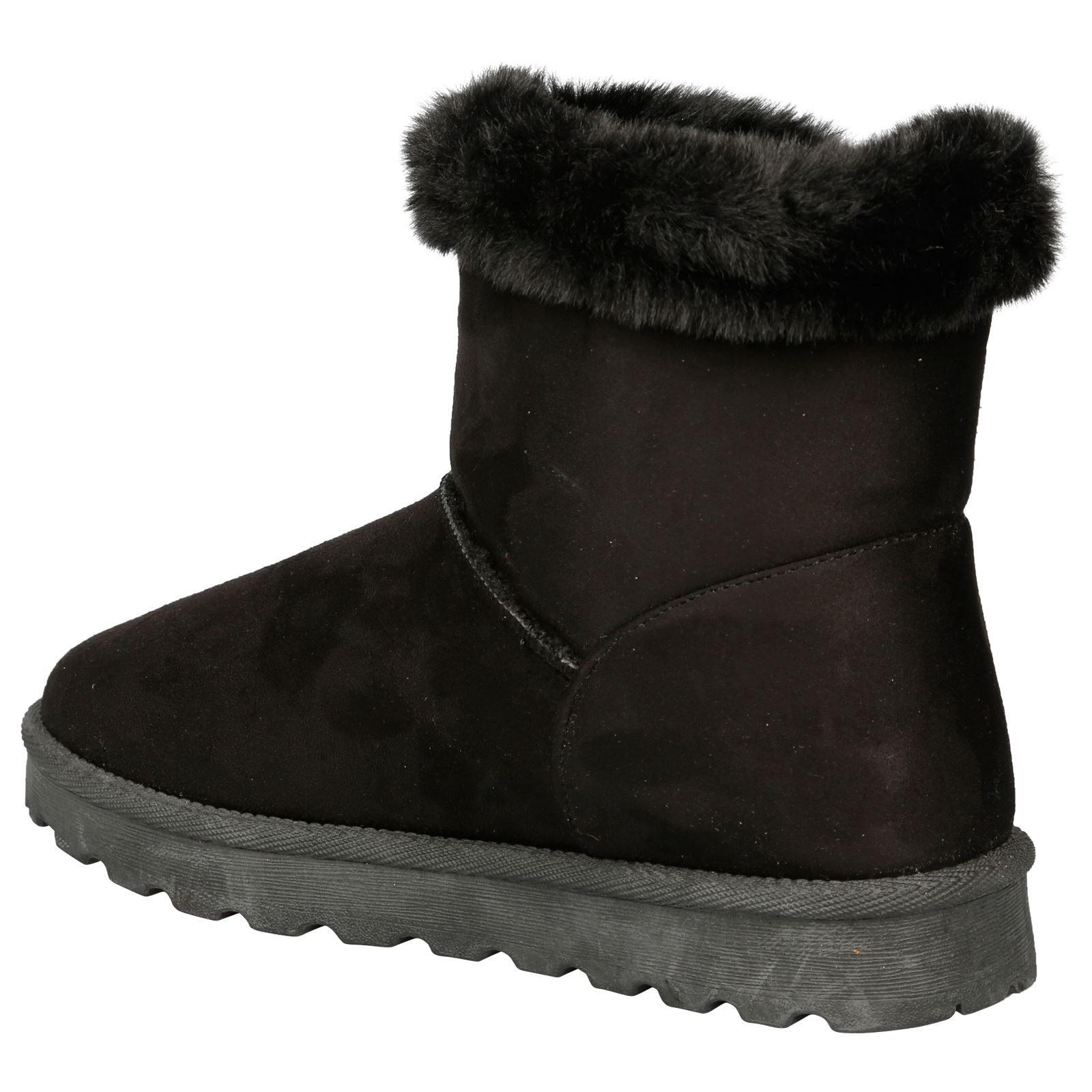 Eliana-Womens-Flatform-Fur-Lined-Flat-Snow-Ankle-Boots-Casual-Ladies-Size-Style thumbnail 5