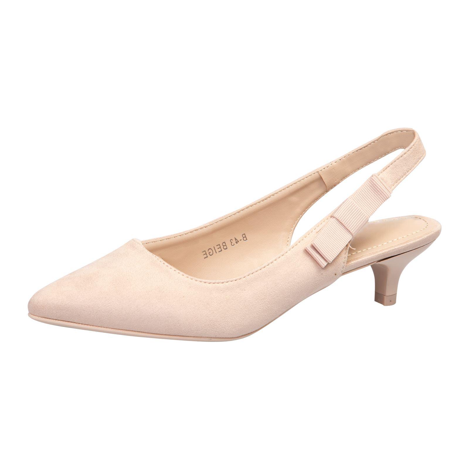 bd923454629bf4 Femme Chaussures Femmes Escarpins Bout Pointu Petit Talon Bride ...