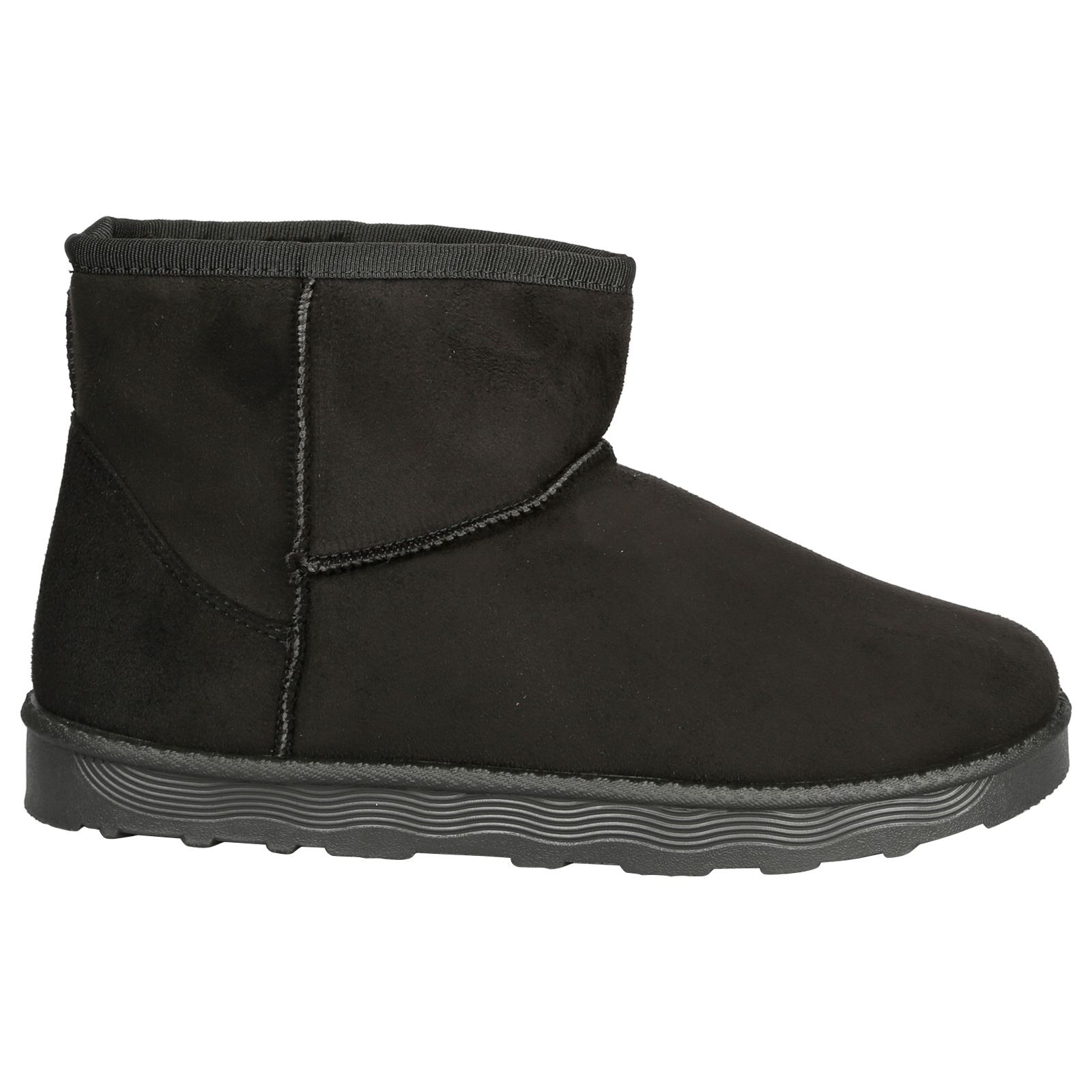 Naomi-Womens-Platfrom-Flat-Fur-Lined-Pull-On-Snug-Snow-Boots-Casual-Ladies-Size thumbnail 3