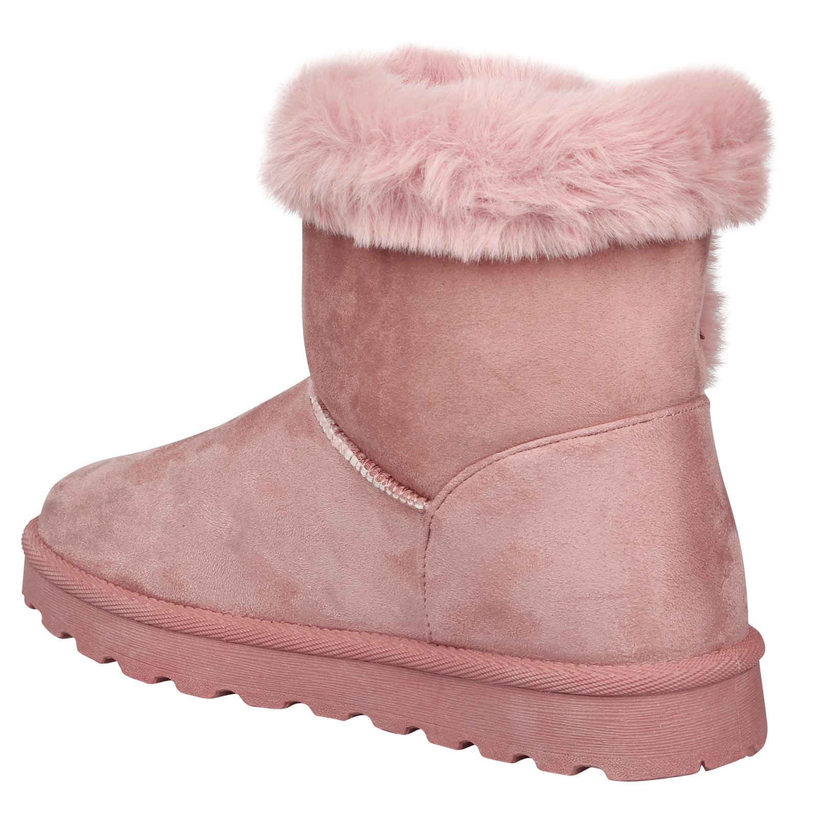 Eliana-Womens-Flatform-Fur-Lined-Flat-Snow-Ankle-Boots-Casual-Ladies-Size-Style thumbnail 17