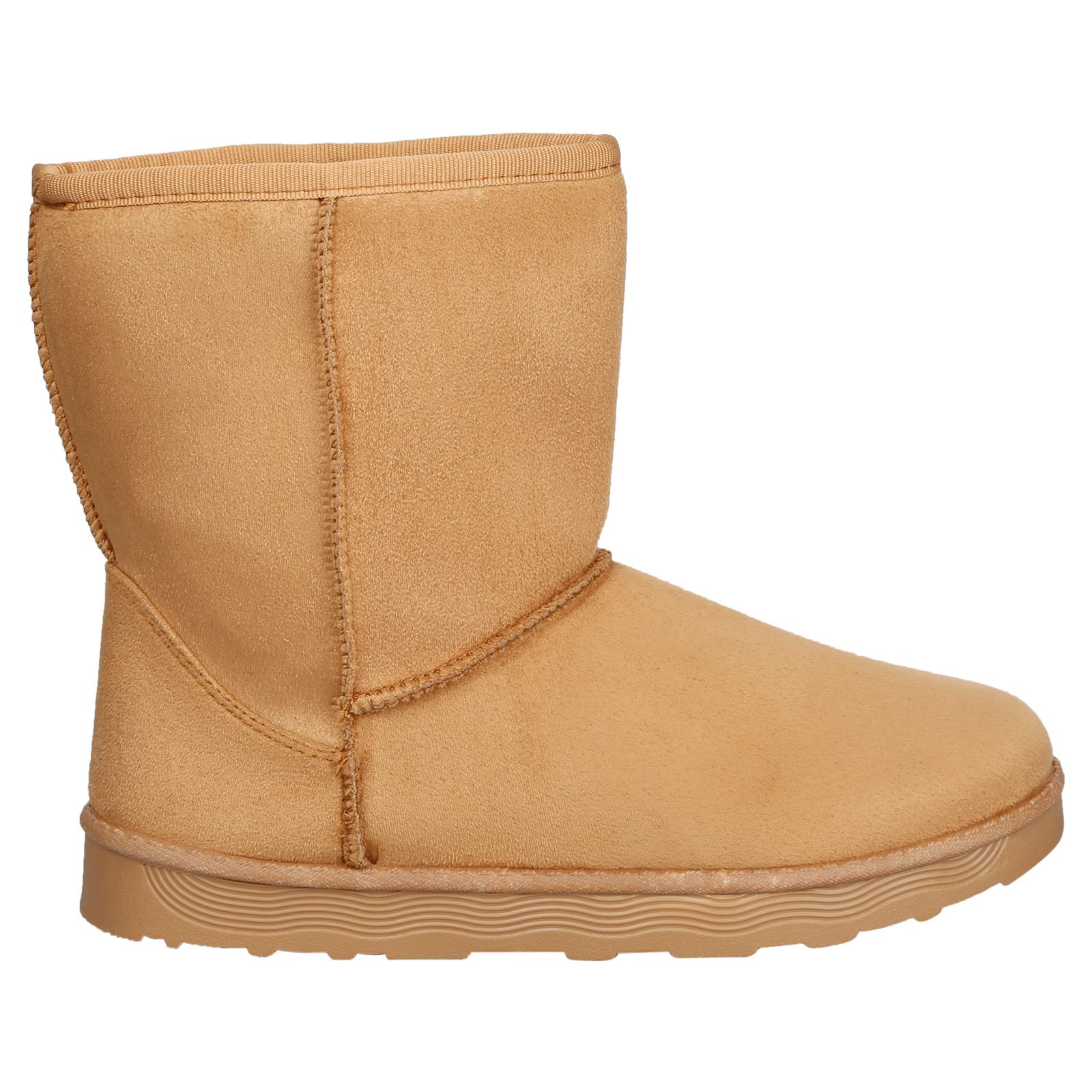 Paisleigh-Womens-Platfrom-Flat-Fur-Lined-Pull-On-Snug-Snow-Boots-Casual-Ladies thumbnail 7