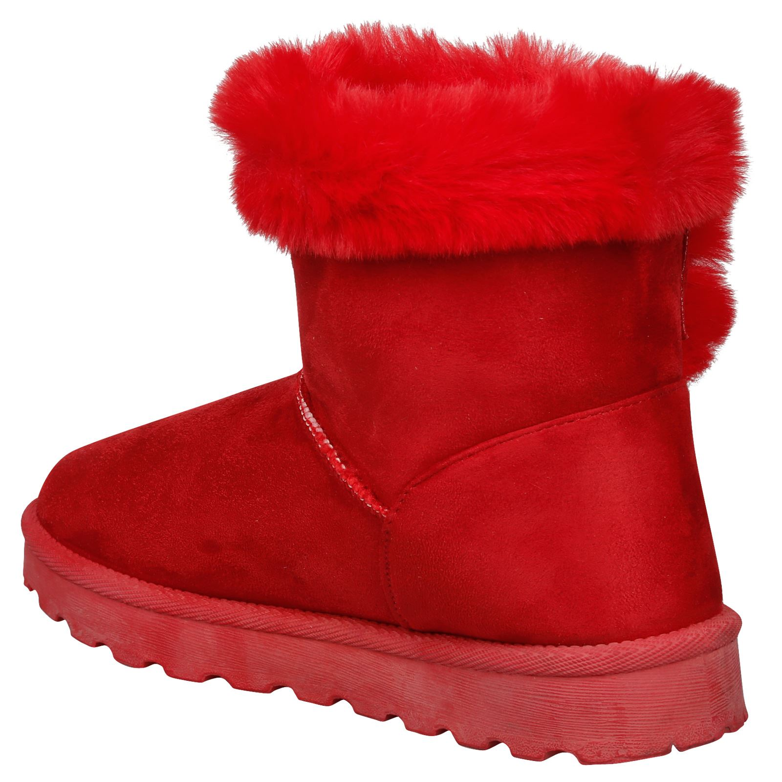 Eliana-Womens-Flatform-Fur-Lined-Flat-Snow-Ankle-Boots-Casual-Ladies-Size-Style thumbnail 21