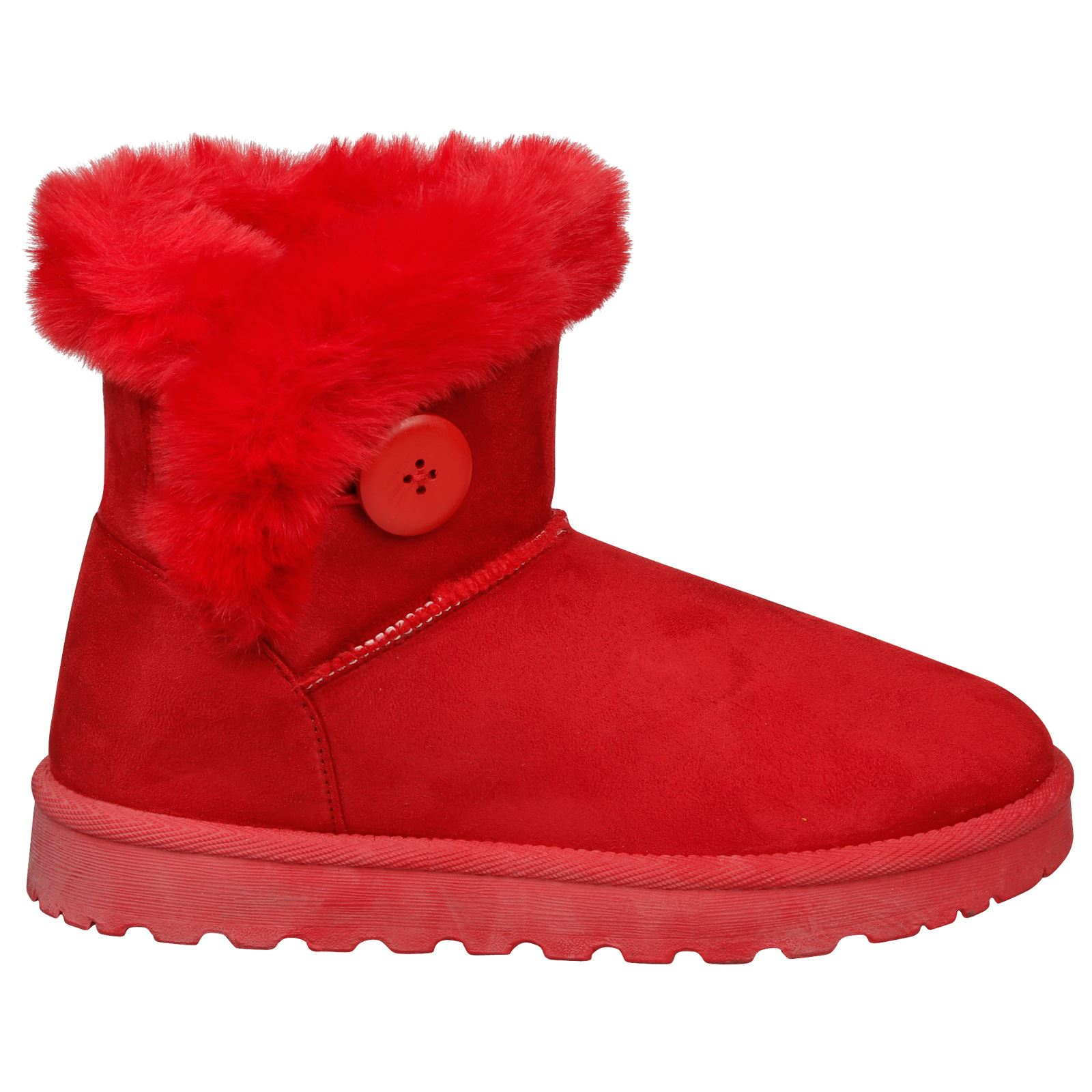 Eliana-Womens-Flatform-Fur-Lined-Flat-Snow-Ankle-Boots-Casual-Ladies-Size-Style thumbnail 19