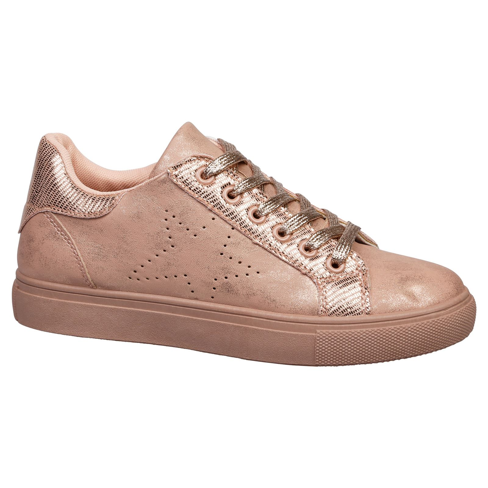 DRAKE-Da-Donna-Ballerine-Tacco-Basso-Lacci-Scarpe-Da-Ginnastica-Scarpe-Da-Donna-Skater-POMPE