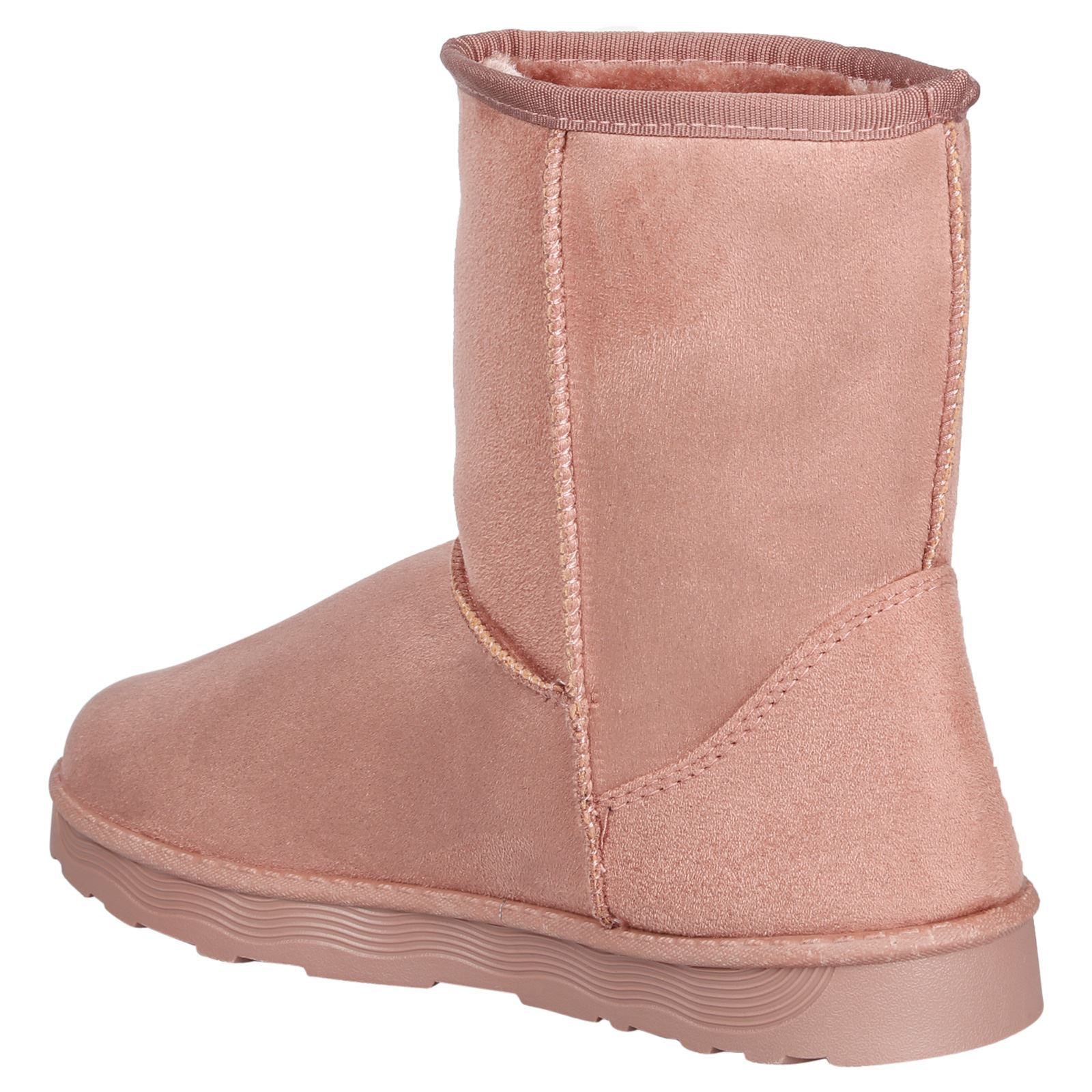 Paisleigh-Womens-Platfrom-Flat-Fur-Lined-Pull-On-Snug-Snow-Boots-Casual-Ladies thumbnail 20