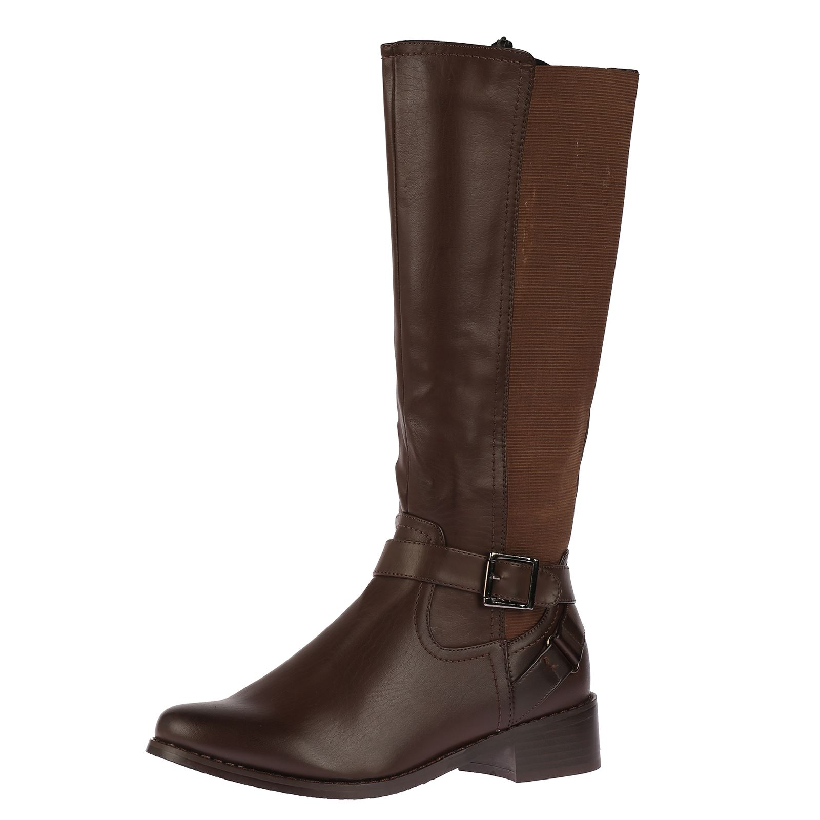 R9E-LADIES-WOMENS-EXTRA-WIDE-CALF-STRETCH-MID-CALF-UNDER-KNEE-CASUAL-BOOTS-SIZE