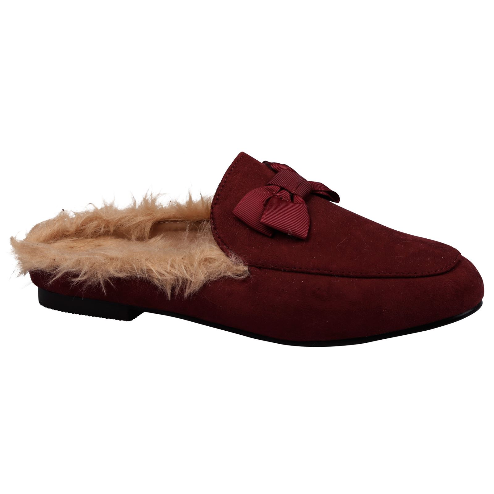 Slip On Shoes Loafers Womens Backless
