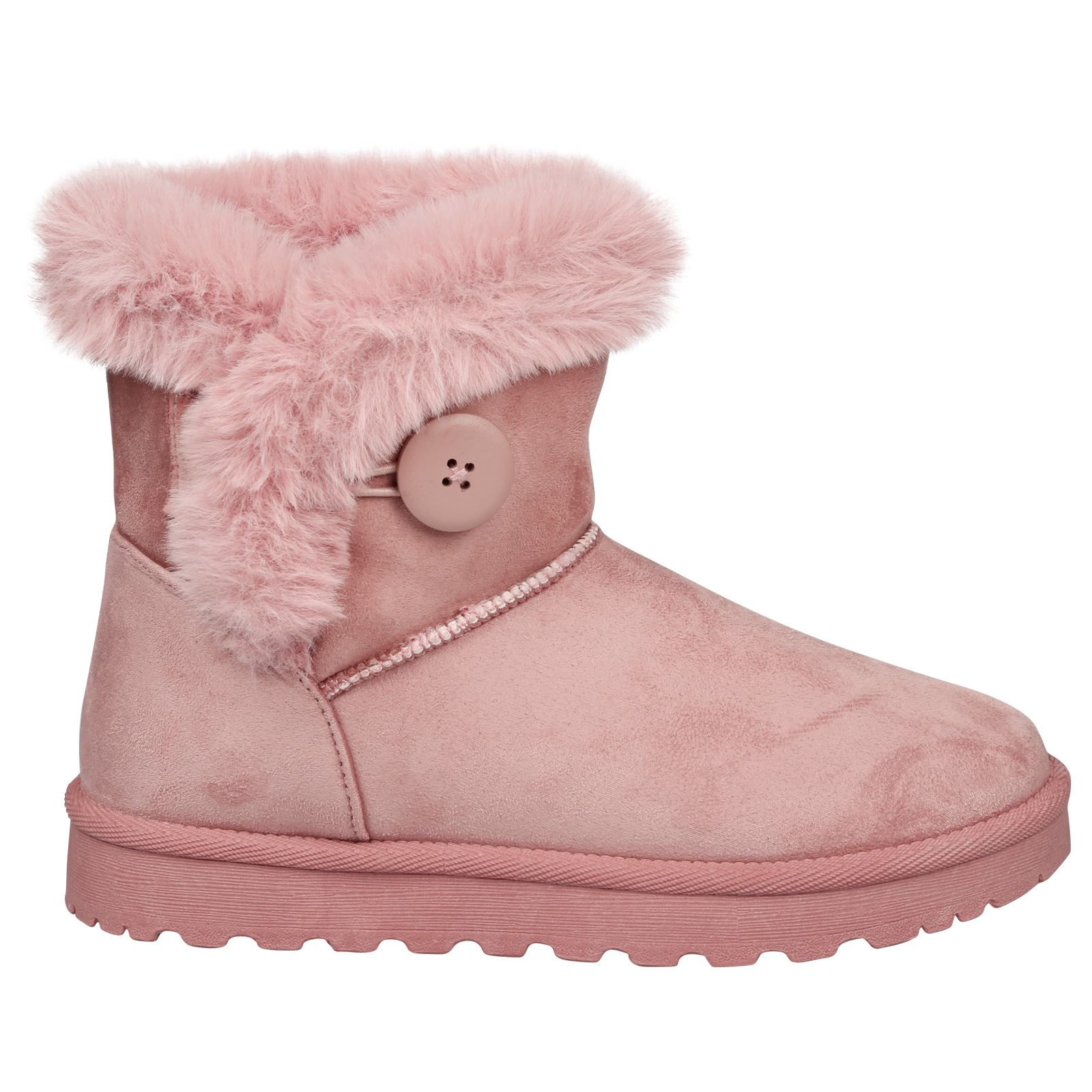 Eliana-Womens-Flatform-Fur-Lined-Flat-Snow-Ankle-Boots-Casual-Ladies-Size-Style thumbnail 15