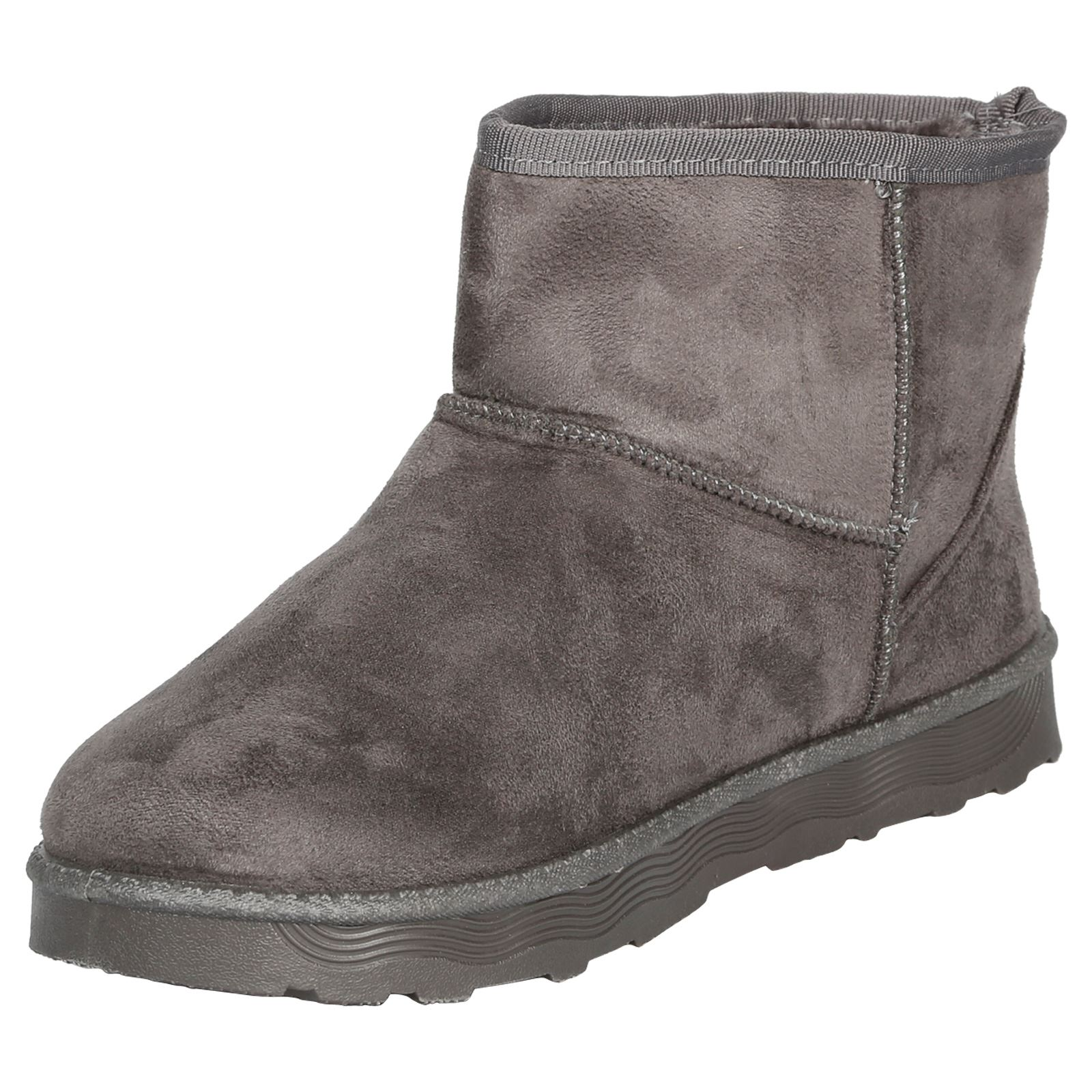 Naomi-Womens-Platfrom-Flat-Fur-Lined-Pull-On-Snug-Snow-Boots-Casual-Ladies-Size thumbnail 12
