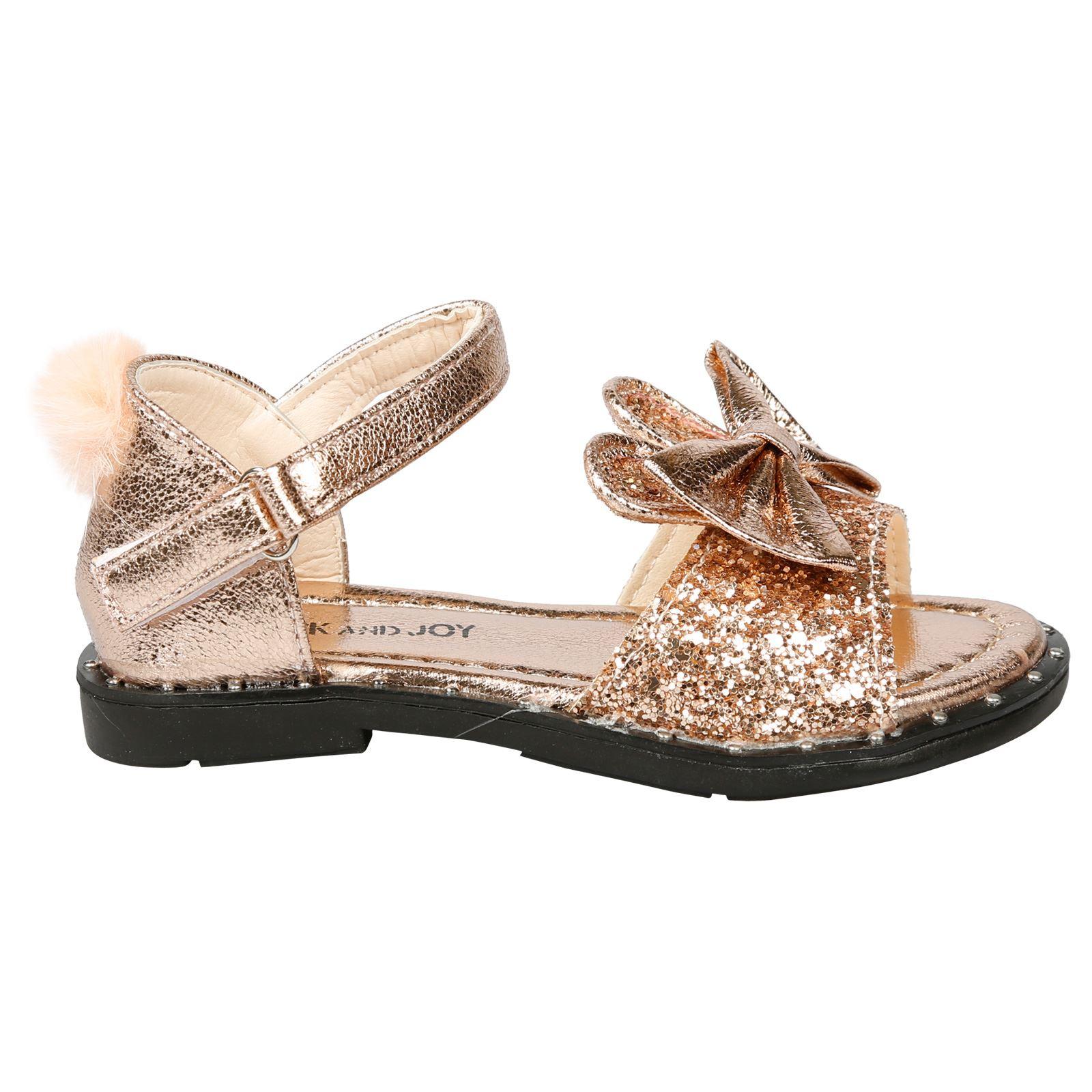 Brand new Bertie gold glitter sandal size 4