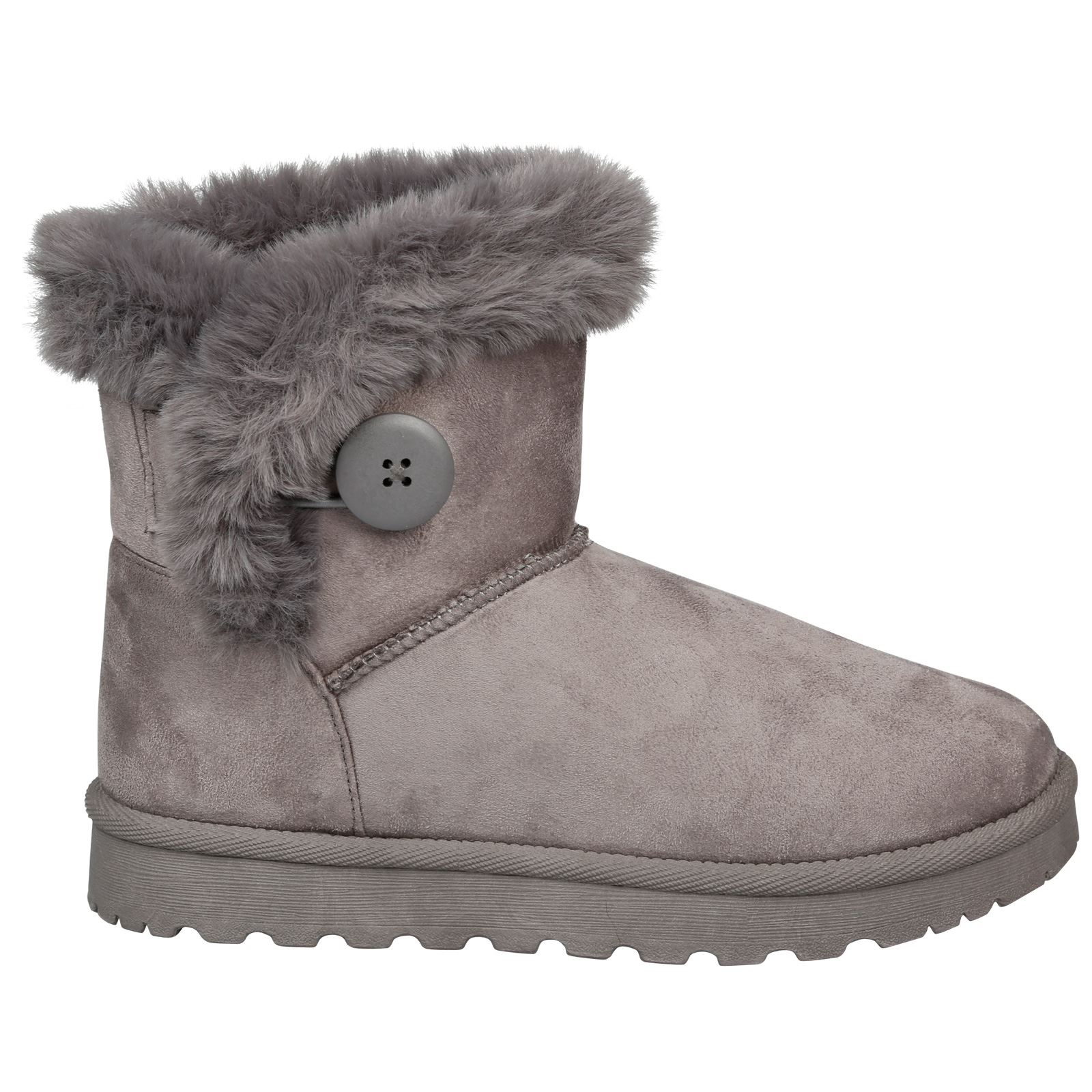 Eliana-Womens-Flatform-Fur-Lined-Flat-Snow-Ankle-Boots-Casual-Ladies-Size-Style thumbnail 11