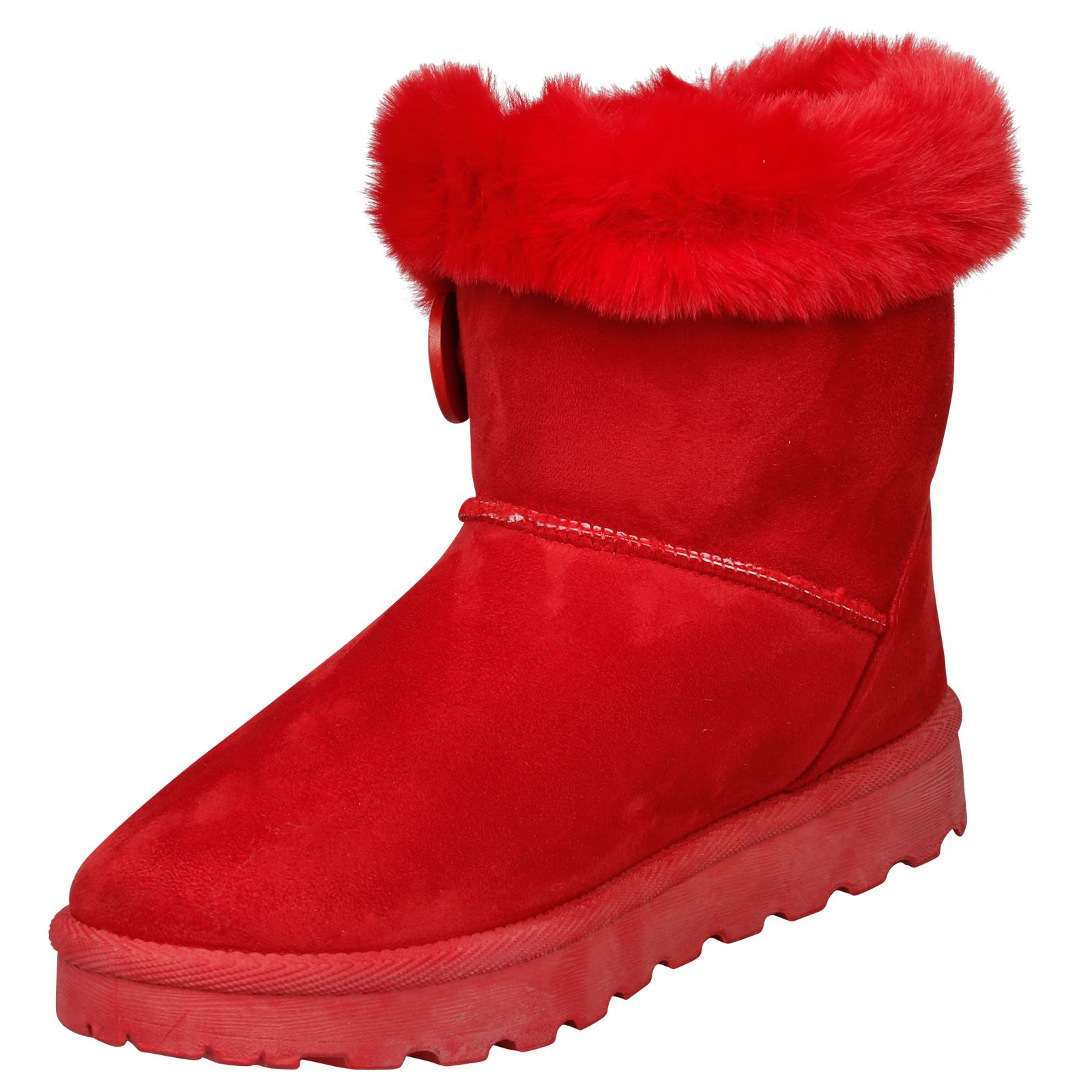 Eliana-Womens-Flatform-Fur-Lined-Flat-Snow-Ankle-Boots-Casual-Ladies-Size-Style thumbnail 20