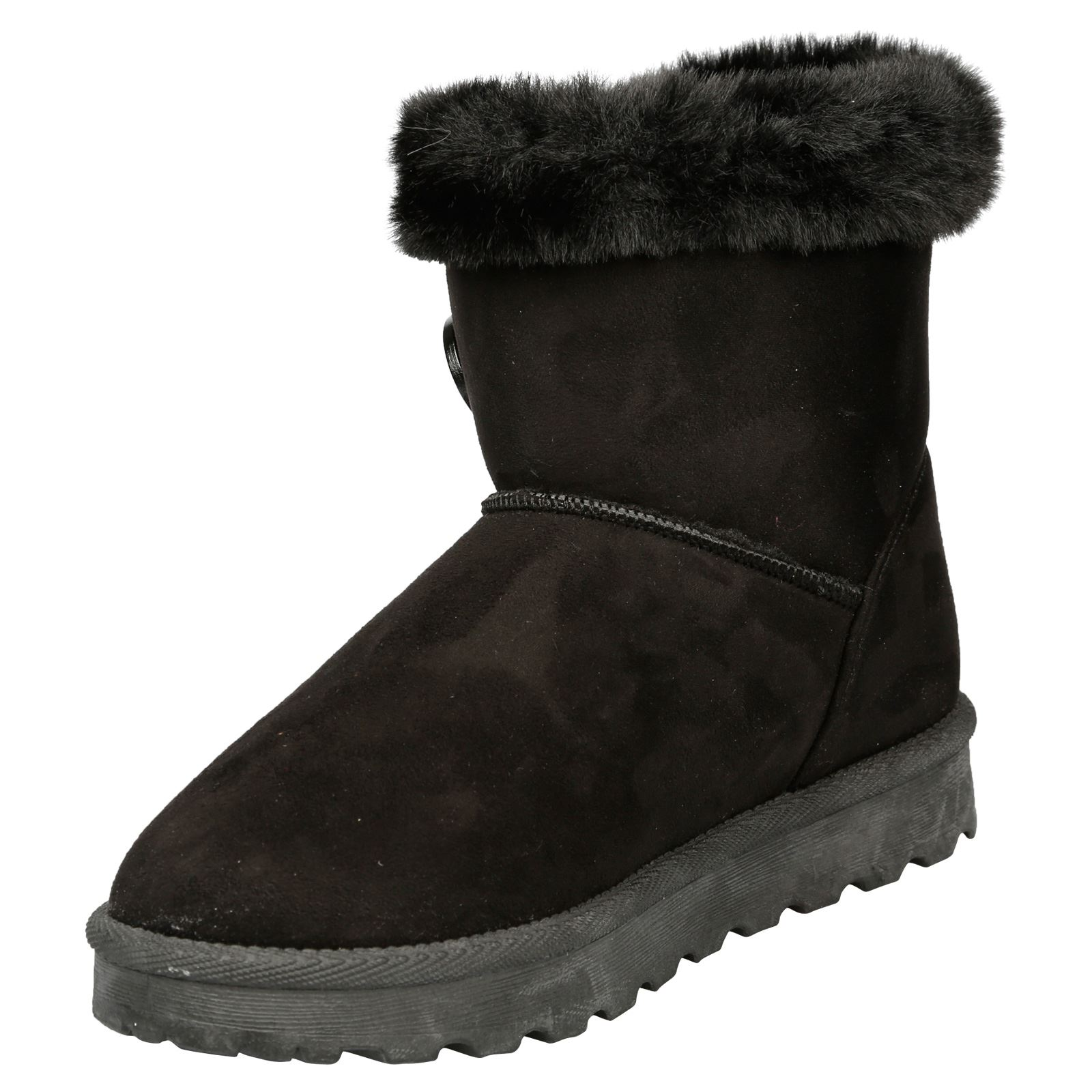Eliana-Womens-Flatform-Fur-Lined-Flat-Snow-Ankle-Boots-Casual-Ladies-Size-Style thumbnail 4