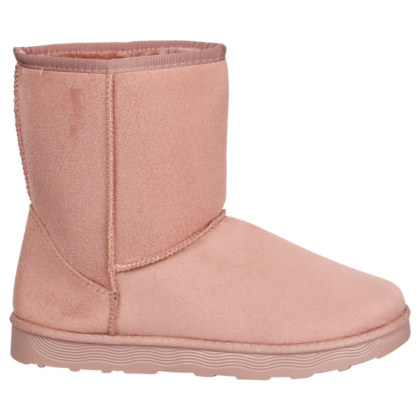 Paisleigh-Womens-Platfrom-Flat-Fur-Lined-Pull-On-Snug-Snow-Boots-Casual-Ladies thumbnail 18