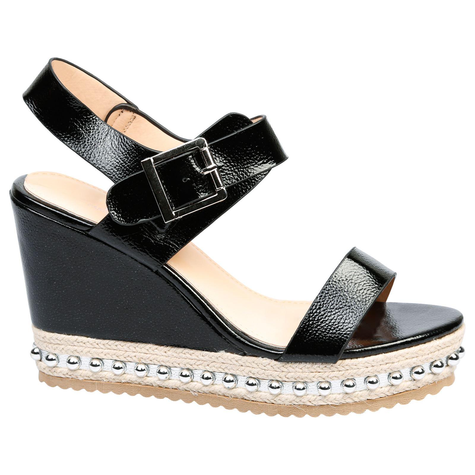 Sherri Womens High Heels Wedges Platforms Sandals Ladies ...