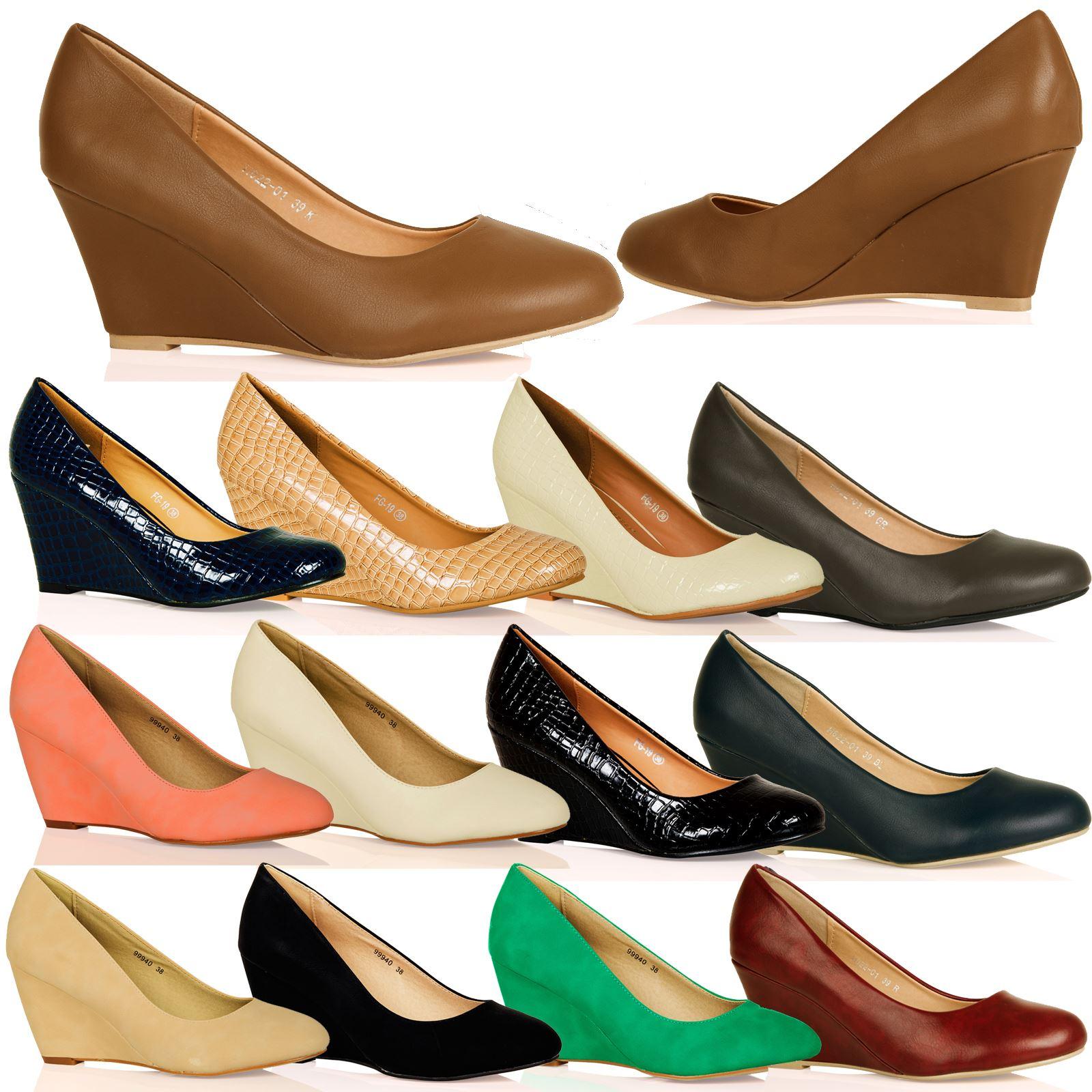 L2a mujer bajo zapatos de sal n tac n medio estilo - Botas de trabajo ...
