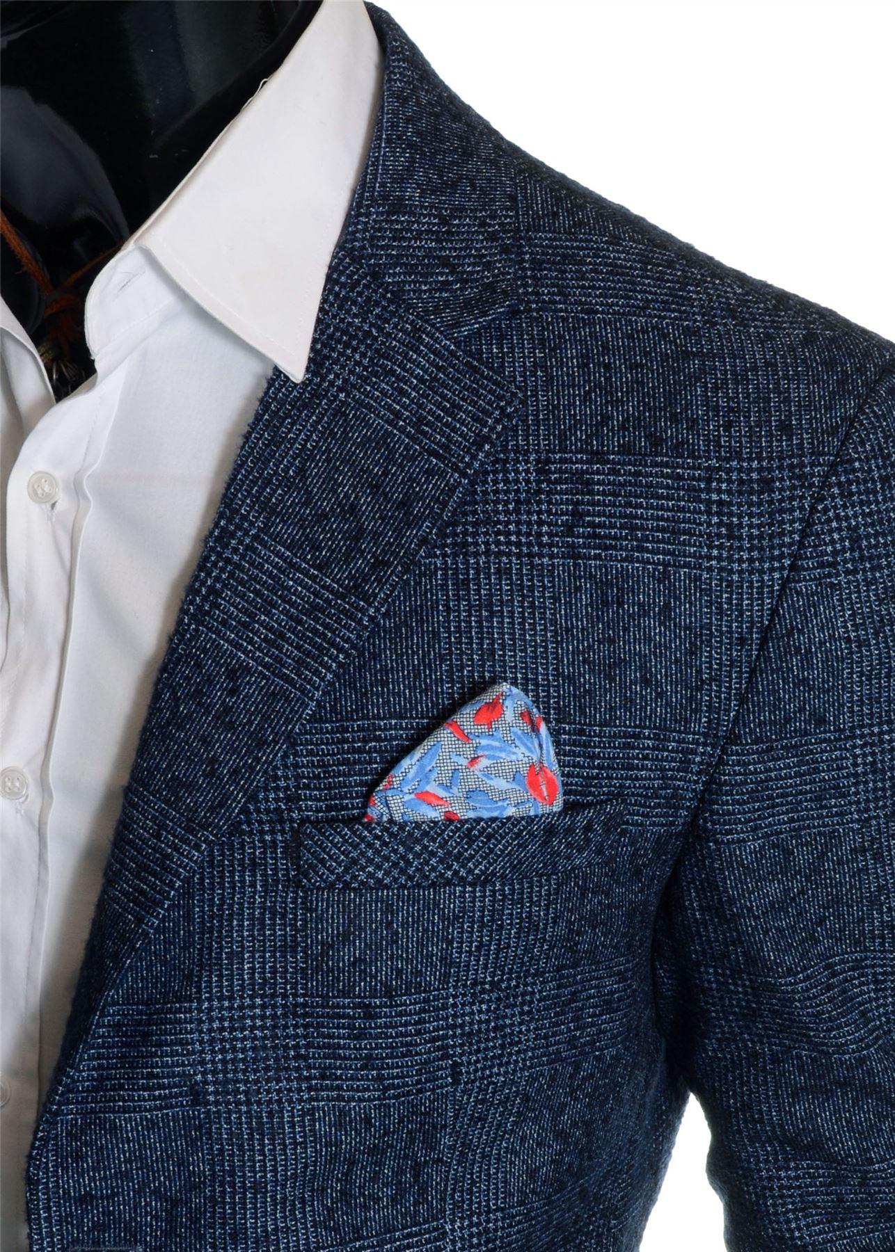 Men-039-s-Checkered-Coat-3-4-Long-Tweed-Cashmere-Wool-Trendy-Formal-Winter-Overcoat thumbnail 10