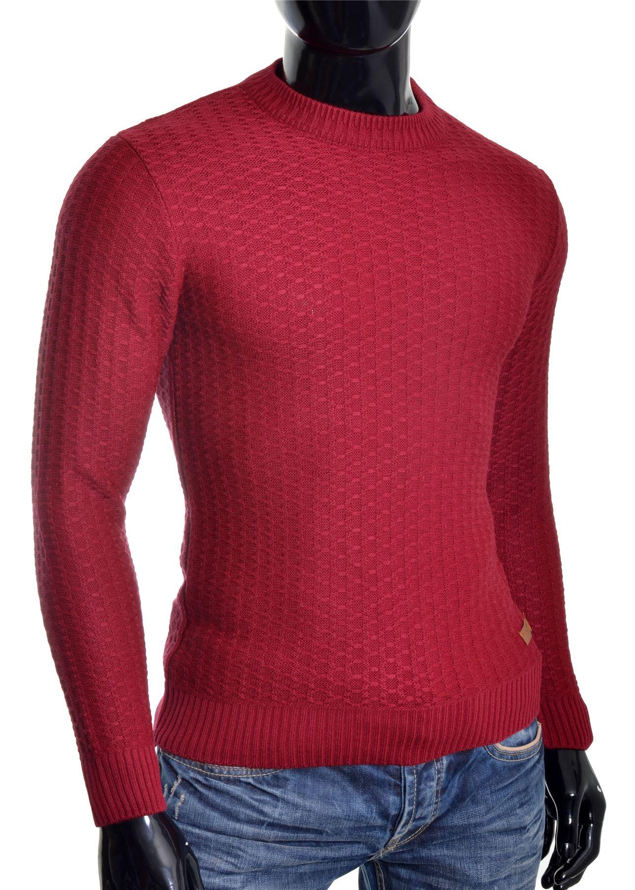 D-amp-R-Men-039-s-Wool-Knit-Jumper-Smart-Long-Sleeve-Sweater-Crew-Neck-Top thumbnail 14