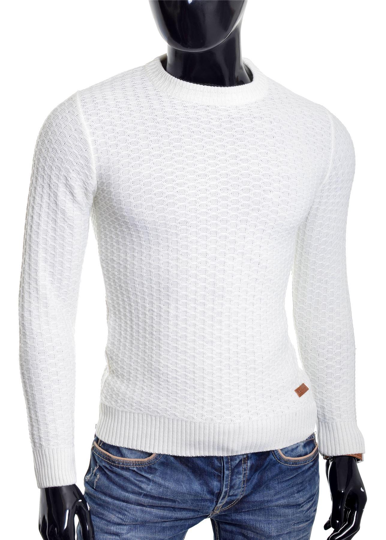 D-amp-R-Men-039-s-Wool-Knit-Jumper-Smart-Long-Sleeve-Sweater-Crew-Neck-Top thumbnail 8