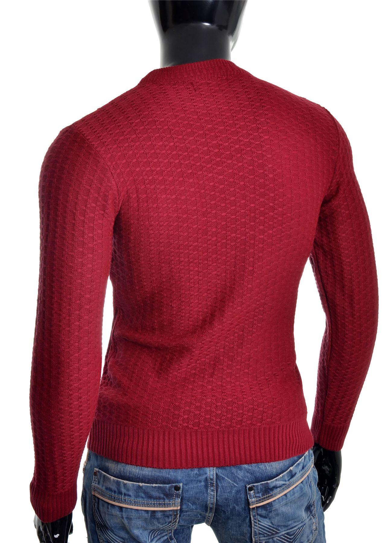 D-amp-R-Men-039-s-Wool-Knit-Jumper-Smart-Long-Sleeve-Sweater-Crew-Neck-Top thumbnail 16