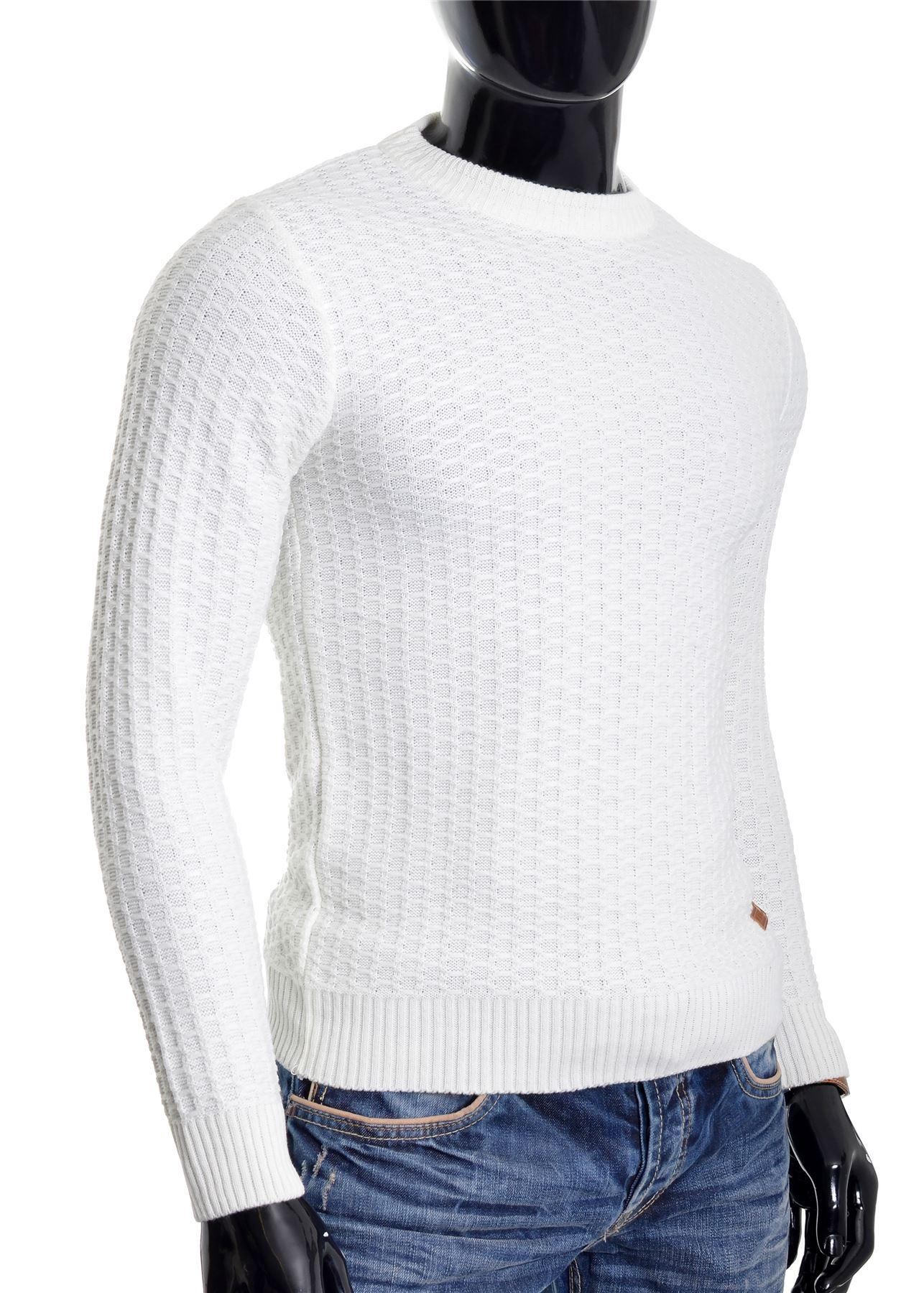 D-amp-R-Men-039-s-Wool-Knit-Jumper-Smart-Long-Sleeve-Sweater-Crew-Neck-Top thumbnail 9