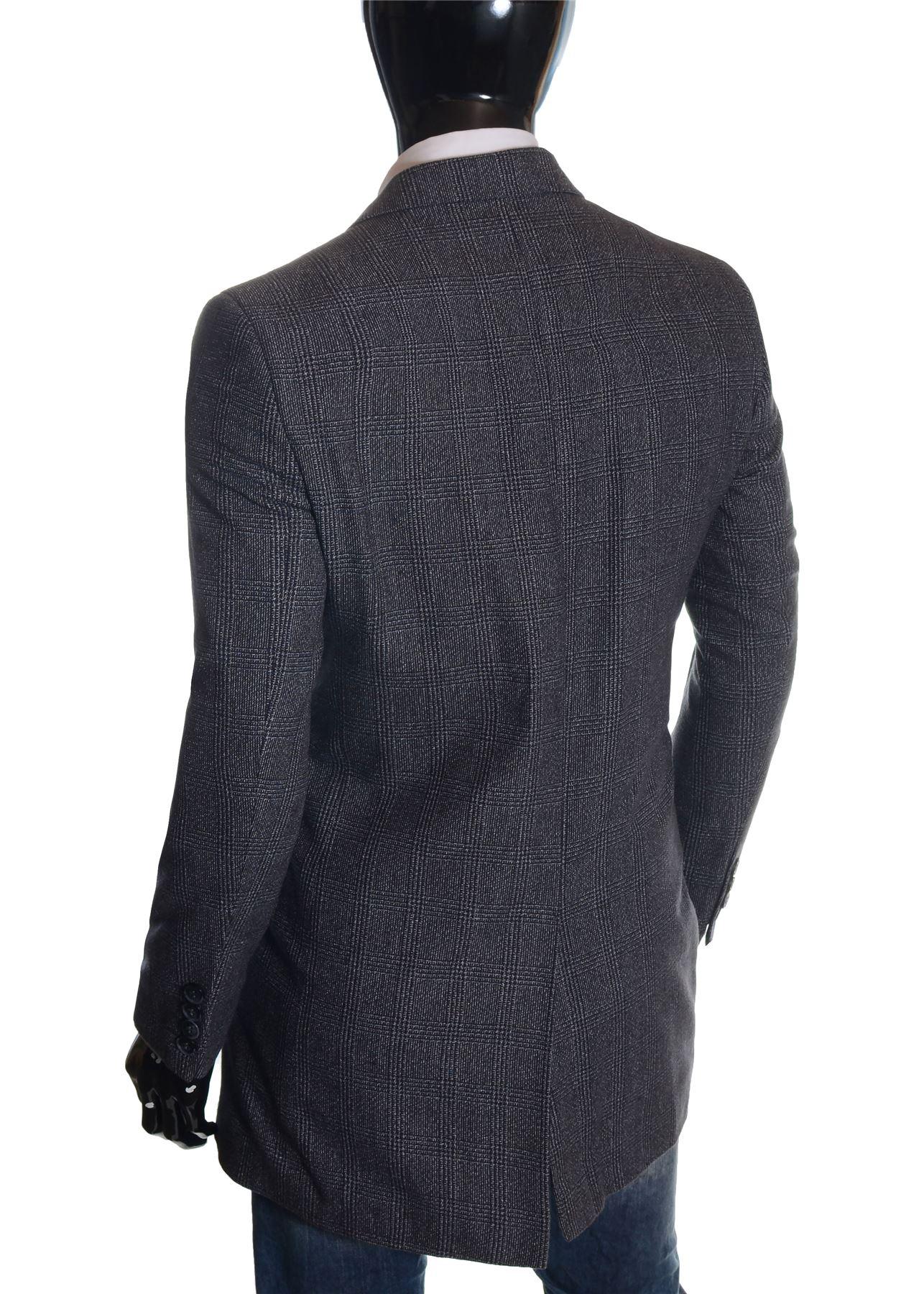 Men-039-s-Checkered-Coat-3-4-Long-Tweed-Cashmere-Wool-Trendy-Formal-Winter-Overcoat thumbnail 29