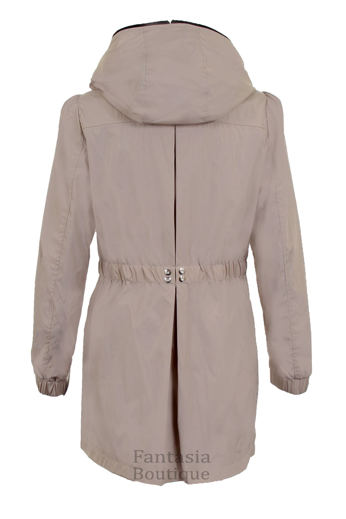 Ladies Hooded Shower Proof Lined Women S Casual