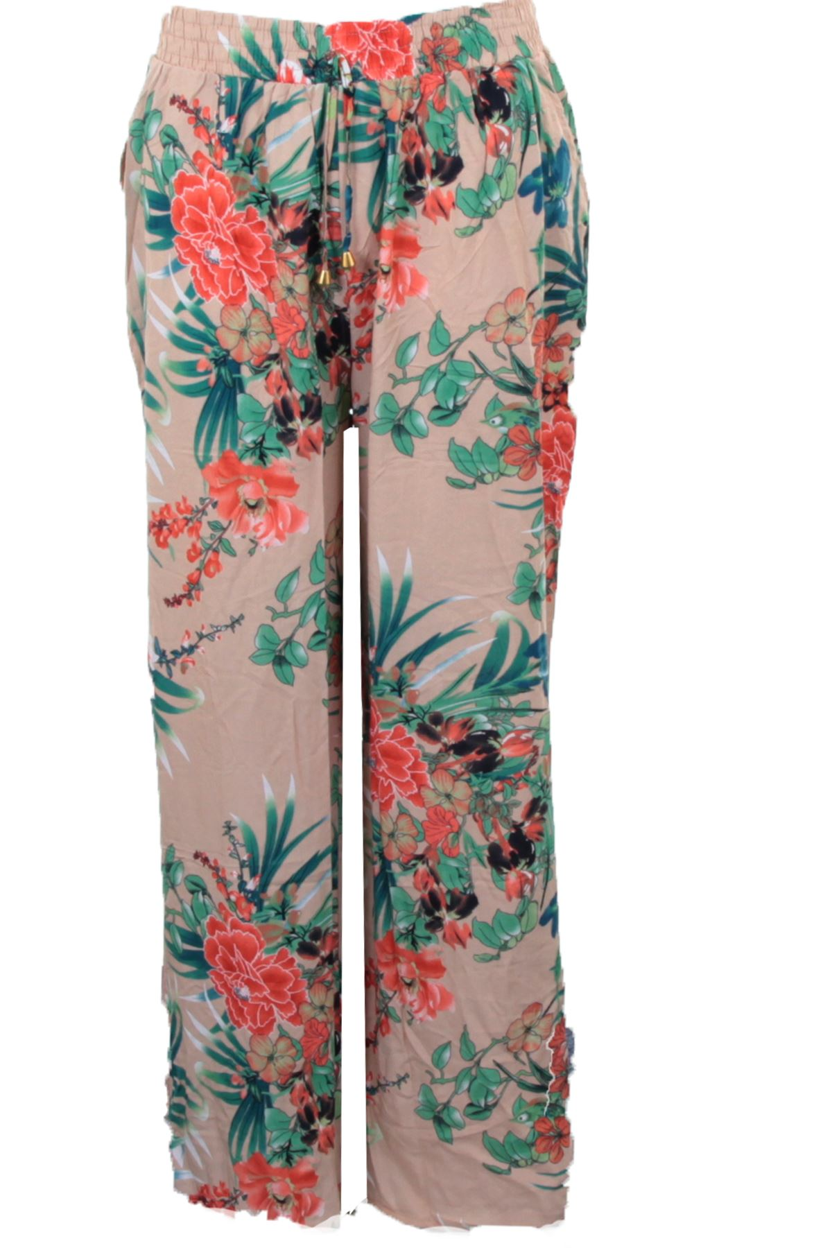 Da donna gamba svasata elasticizzati pantaloncini di lunghezza 3//4 Taglia UK 10 12 14 16 18 20