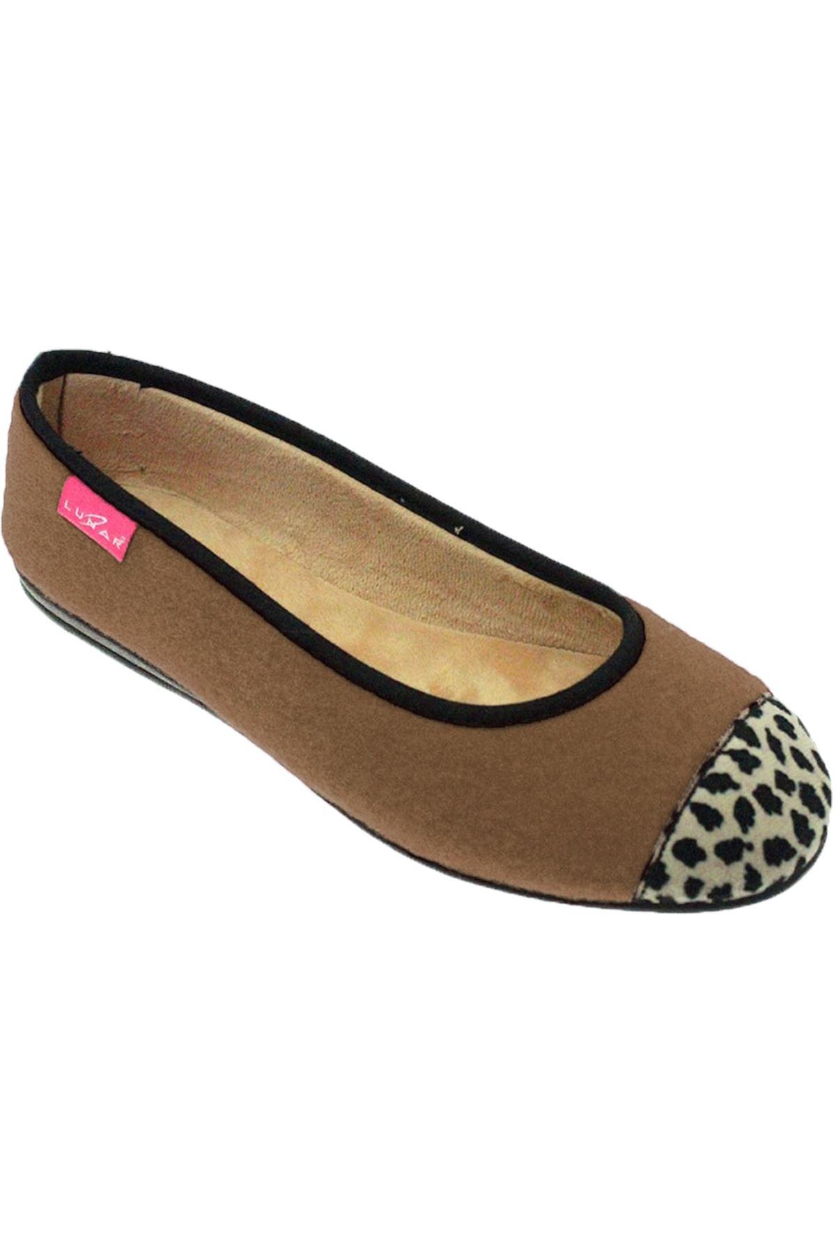KLA042 Denise II Leopard Print Super Soft Slip On Pump Outdoor Style Slipper