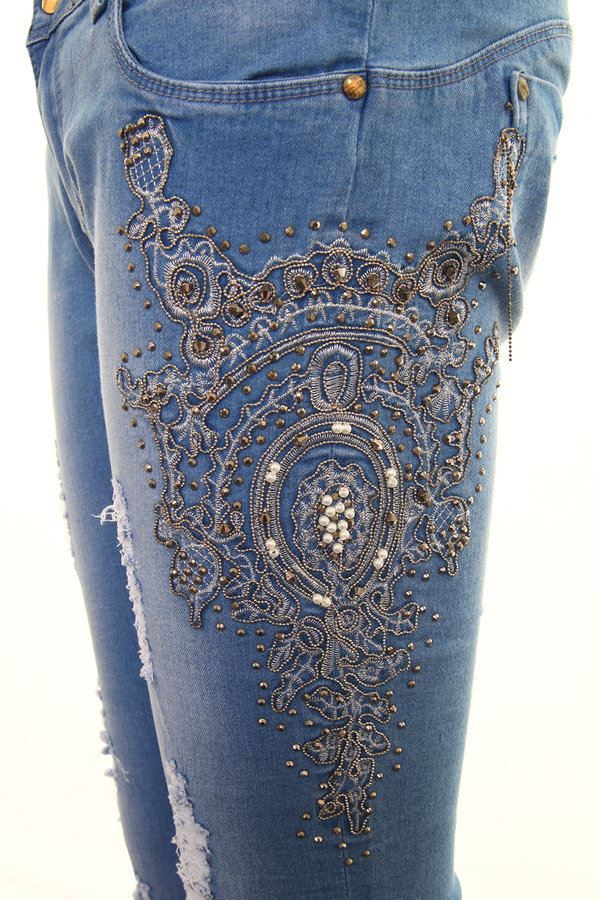 2ac54eeb785c3 Ladies Low Rise Skin Tight Skinny Distressed Celeb Diamante Fade Denim  Jeans