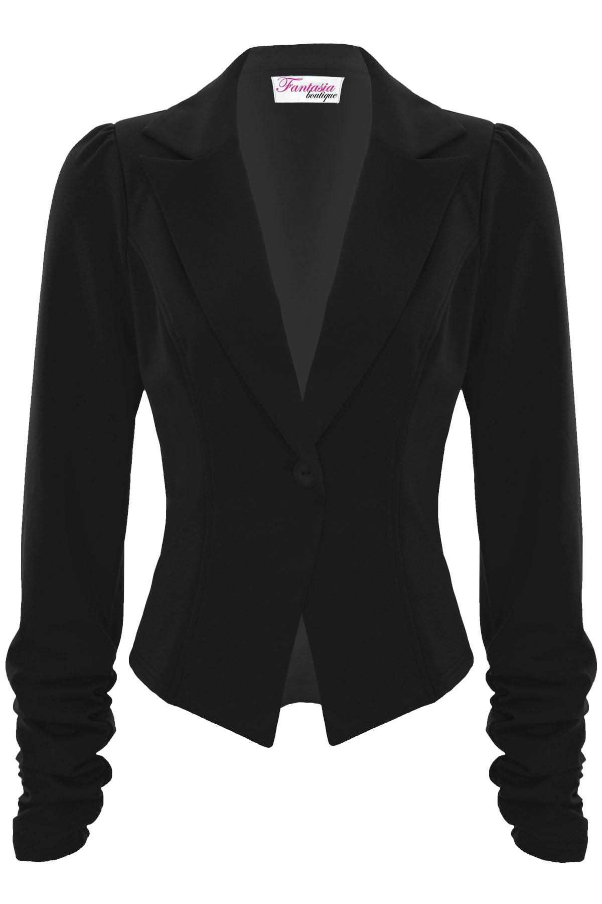 Women/'s Celeb Style Gold Button Double Breasted Fitted Blazer White AUS STOCK