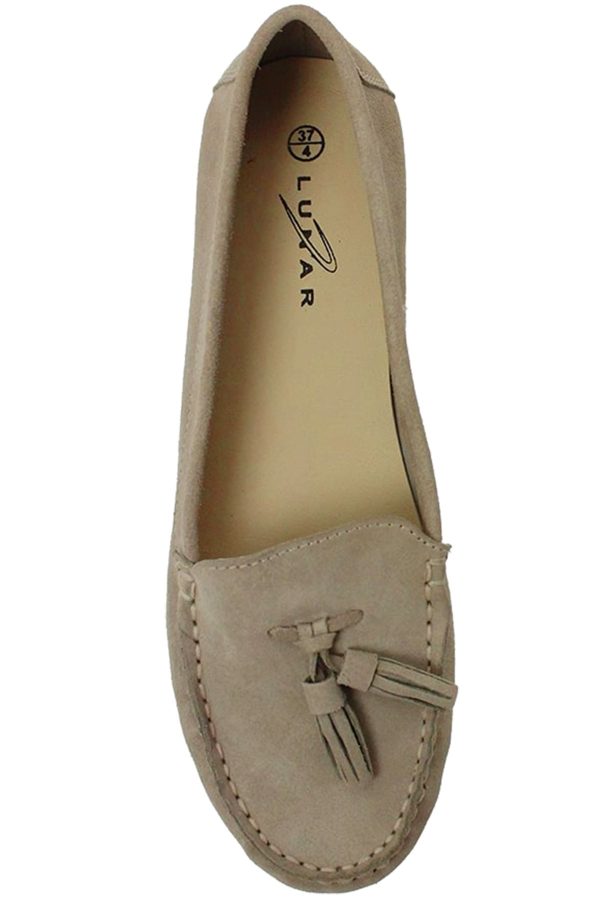 FLH598 Morris Leather Donna Tassel Classic Suede Leather Morris Moccasin Shoes Loafers e27f3e