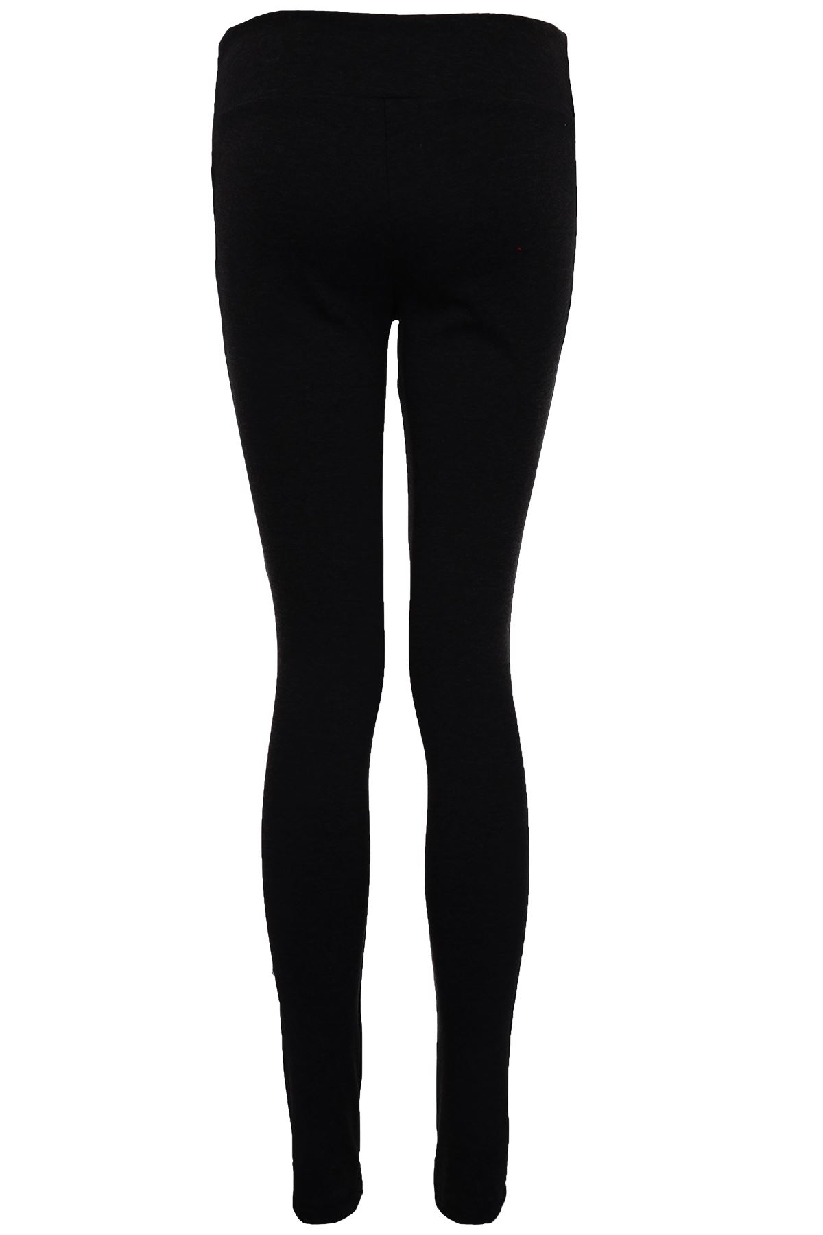 Ladies-Skinny-Fit-Gold-Zip-Pockets-Women-039- - Ladies Skinny Fit Gold Zip Pockets Women's Smart Office Jeggings
