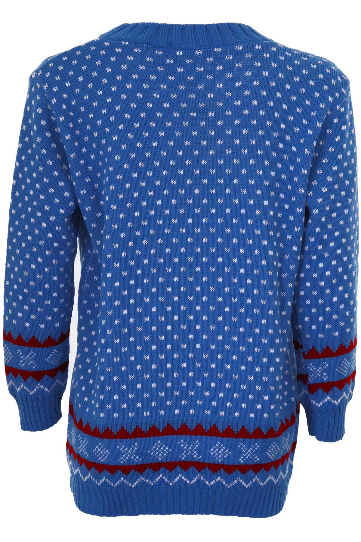 Knitting Pattern Olaf Jumper : Womens Santa Reindeer Snow Minion Olaf Ladies Knitted Christmas Jumper T...