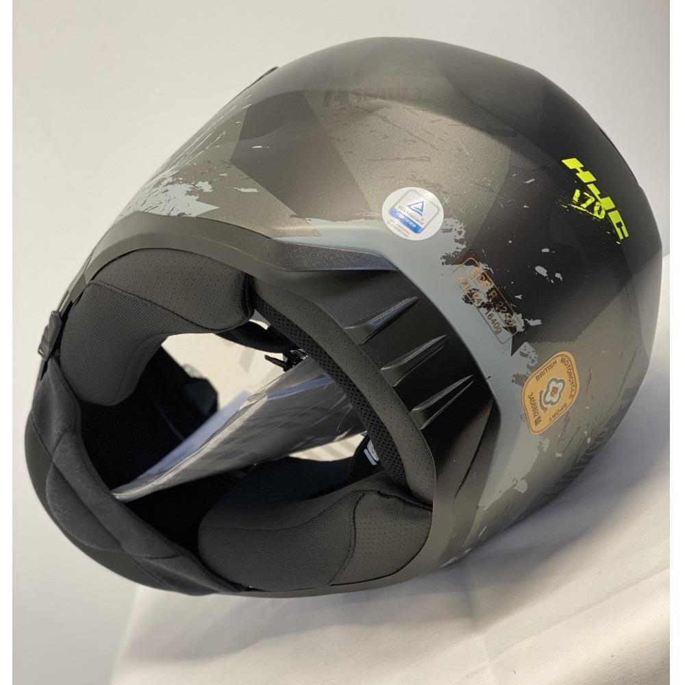 HJC Rias I70 Motorcycle Motorbike Scooter Full Face Helmet Reduced