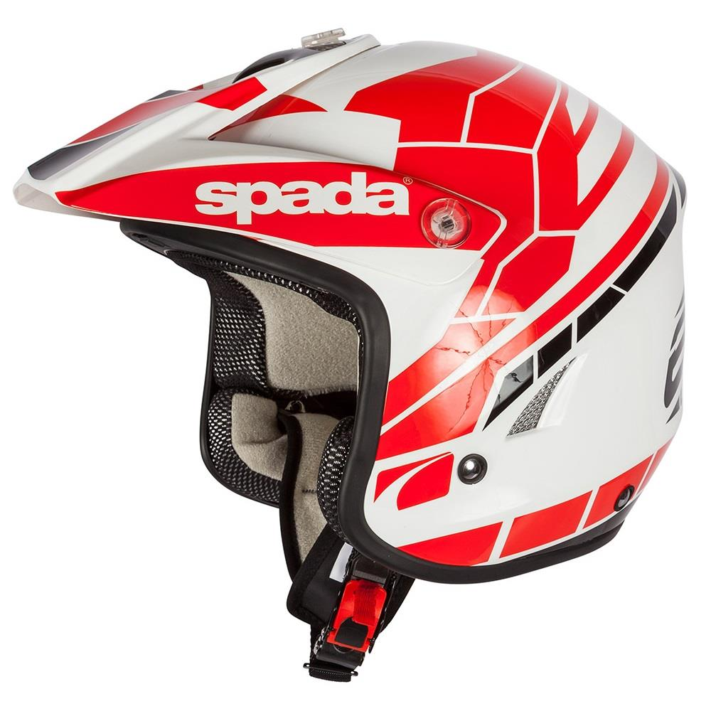 Spada Edge Chaser Open Face Trials Off Road Motorcycle