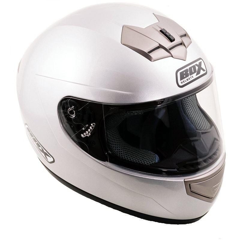 Box-BX-1-Plain-Motorcycle-Bike-Scooter-Crash-Helmet-Solid-Lid-4-Star-Sharp
