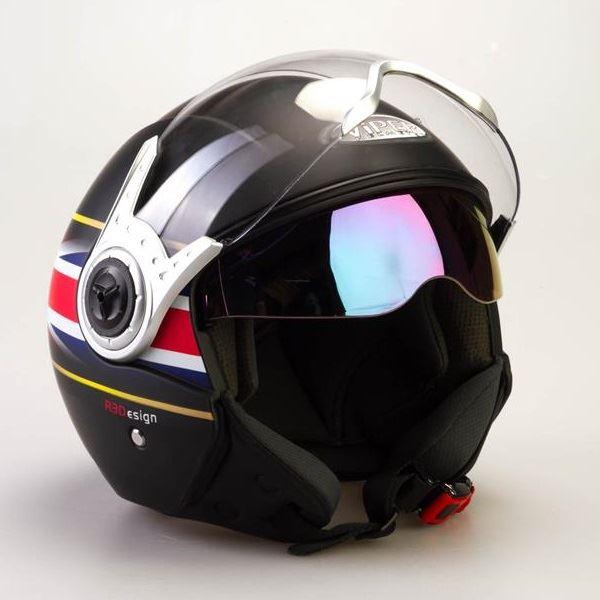 Viper-RS-v18-Union-Jack-Motorcycle-Motorbike-Open-Face-Crash-Helmet-Scooter-New