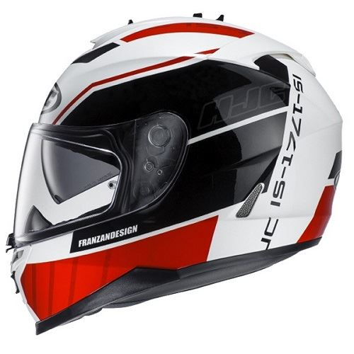 HJC-IS-17-Tridents-Full-Face-Motorcycle-Scooter-Crash-Helmet-Free-Pinlock-Insert thumbnail 6