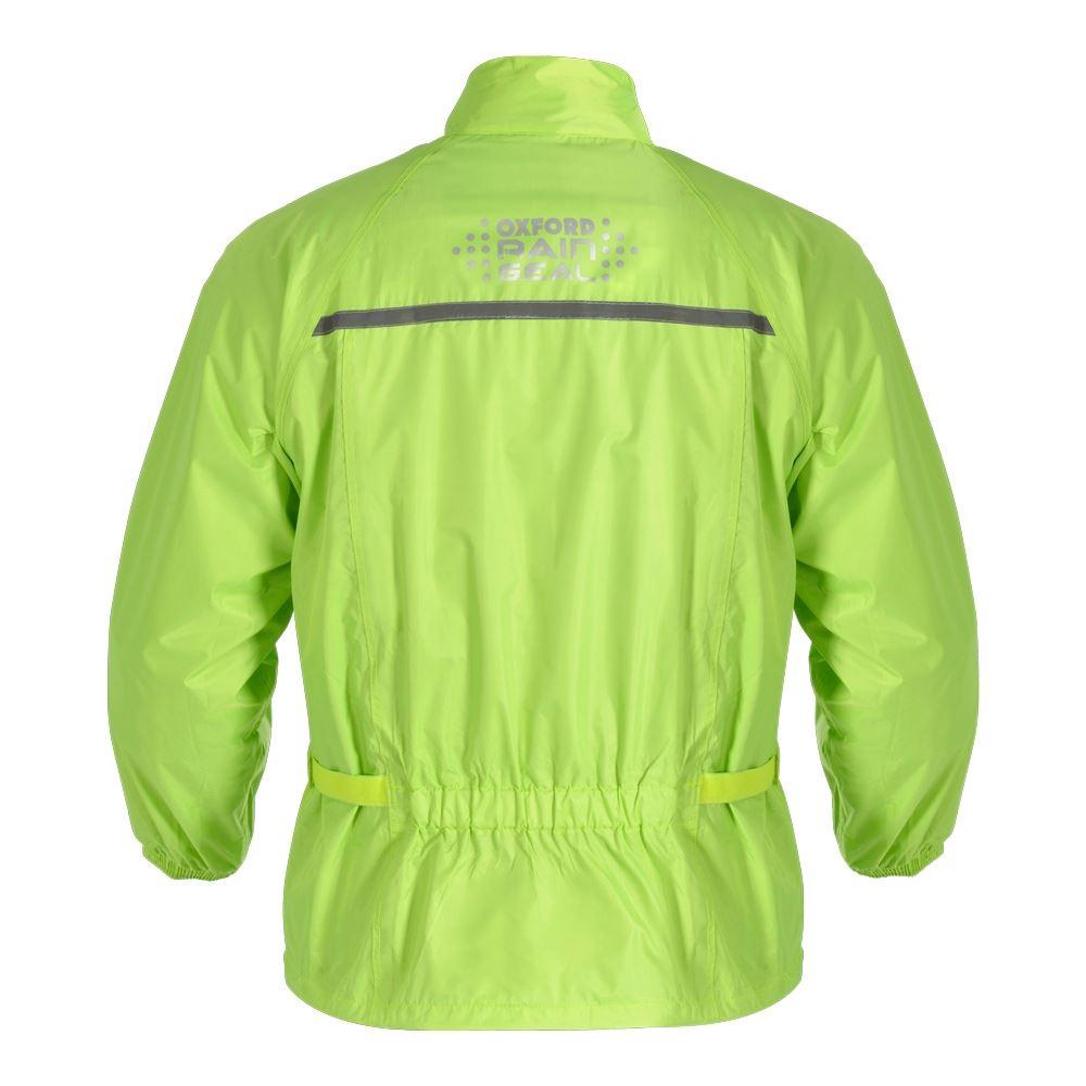 Oxford-rainseal-Todo-Tipo-De-Clima-Moto-Bicicleta-Chaqueta-Impermeable-Hi-Vis-Nuevo-sobre