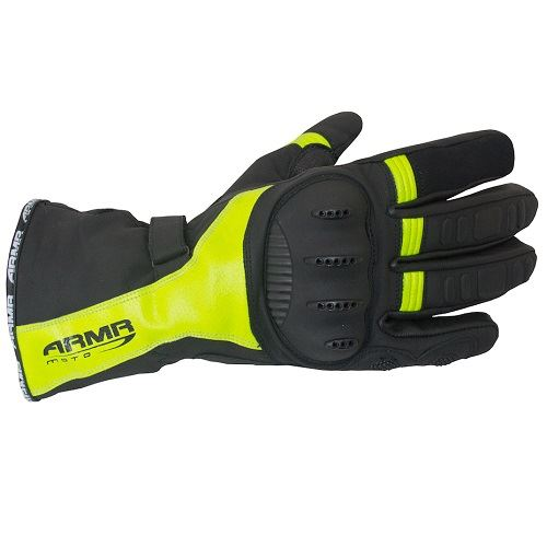ARMR-MOTO-wpl250-Impermeable-Termicos-Invierno-Motocicleta-Guantes-Negros