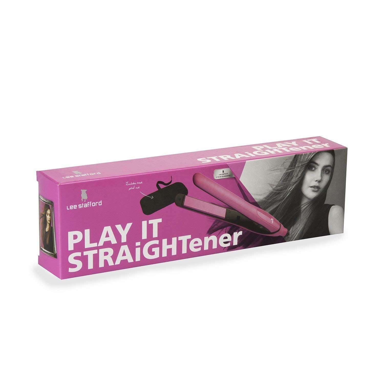 Lee Stafford Play It Straightener Hair Straightening