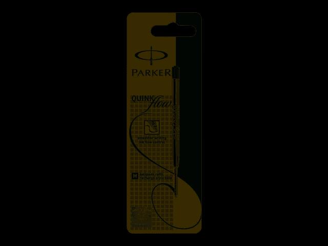 1950366 Broad Parker Quink Flow Ballpoint Refill Black 6 Pcs// Pack