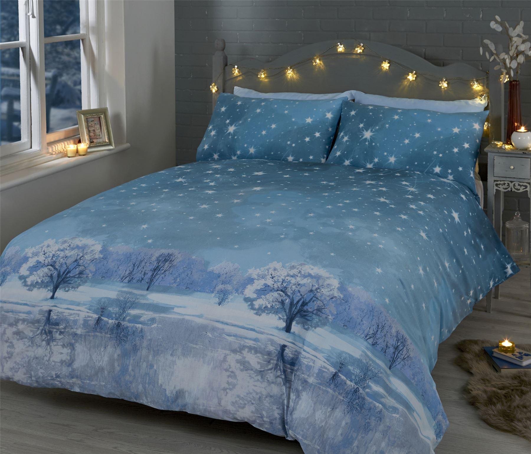 Christmas Quilt Duvet Cover Amp Pillowcase Bedding Bed Set