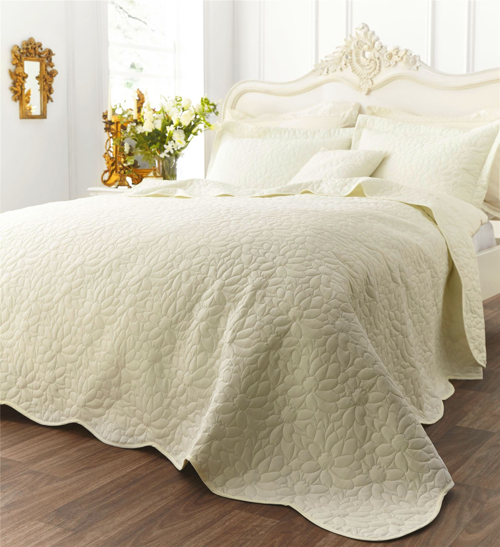 floral geometric contemporary bedspread or cushions catherine  - floralgeometriccontemporarybedspreadorcushionscatherinelansfield