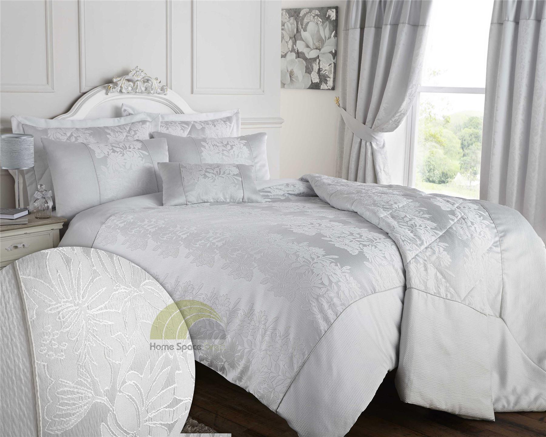 Luxury Woven Jacquard Quilt Duvet Cover Bedding Bed Linen Sets ... : jacquard quilt cover sets - Adamdwight.com