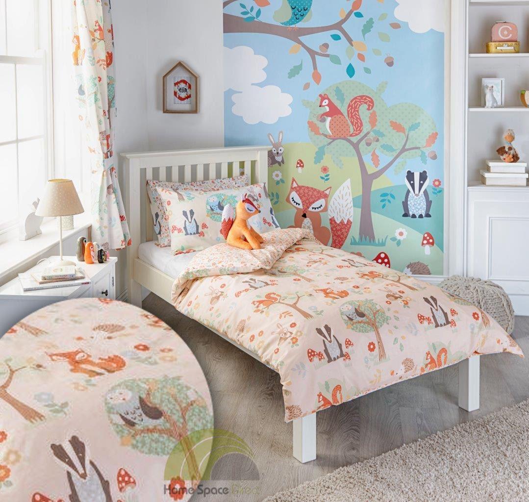 Children kids junior single double quilt duvet covers p case bedding bed sets ebay - Housse de couette lit simple ...