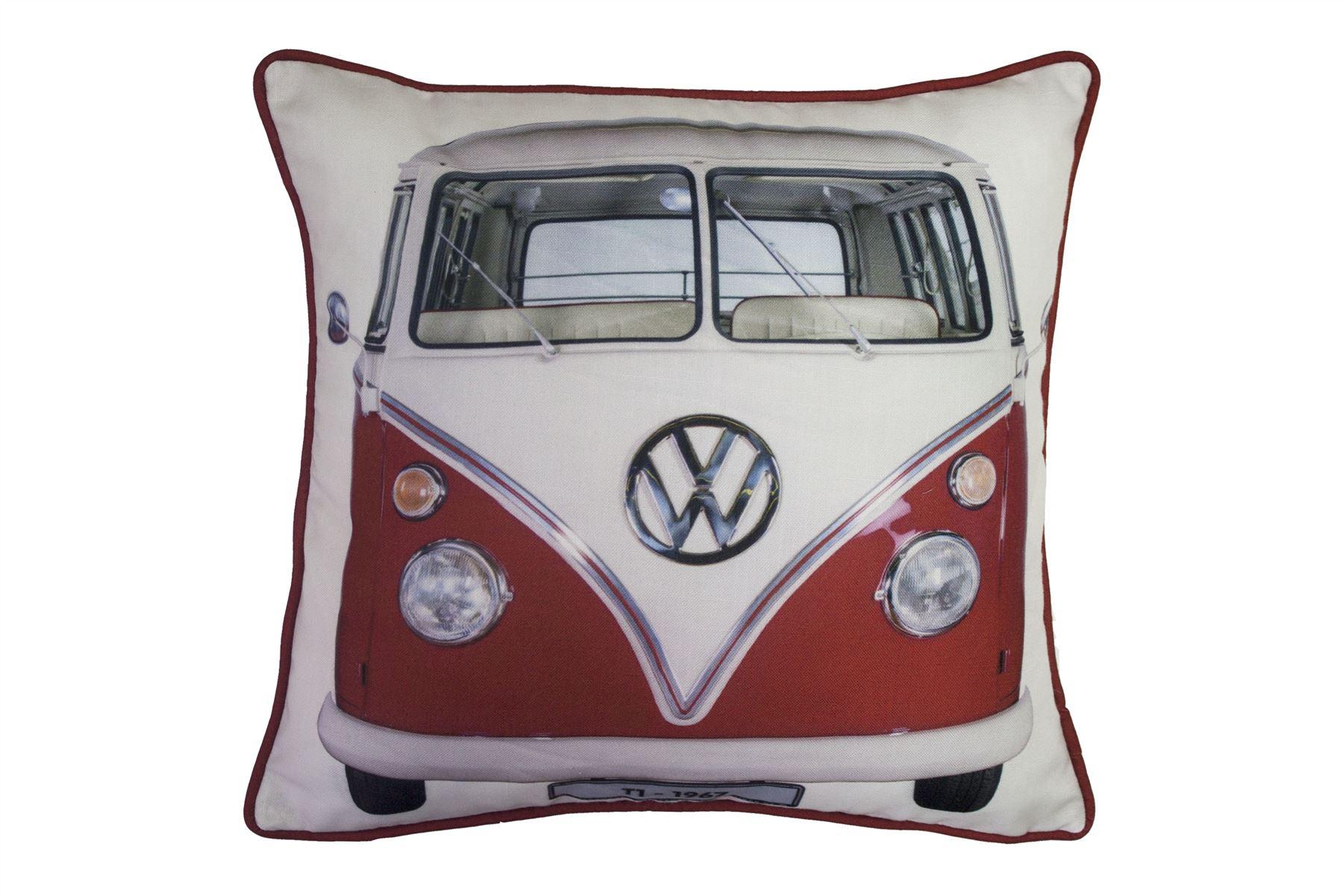 VW-Volkswagen-Couette-Housse-De-Couette-Literie-Lit-Jeux-ou-coussins-ou-jeter-Camper-Van