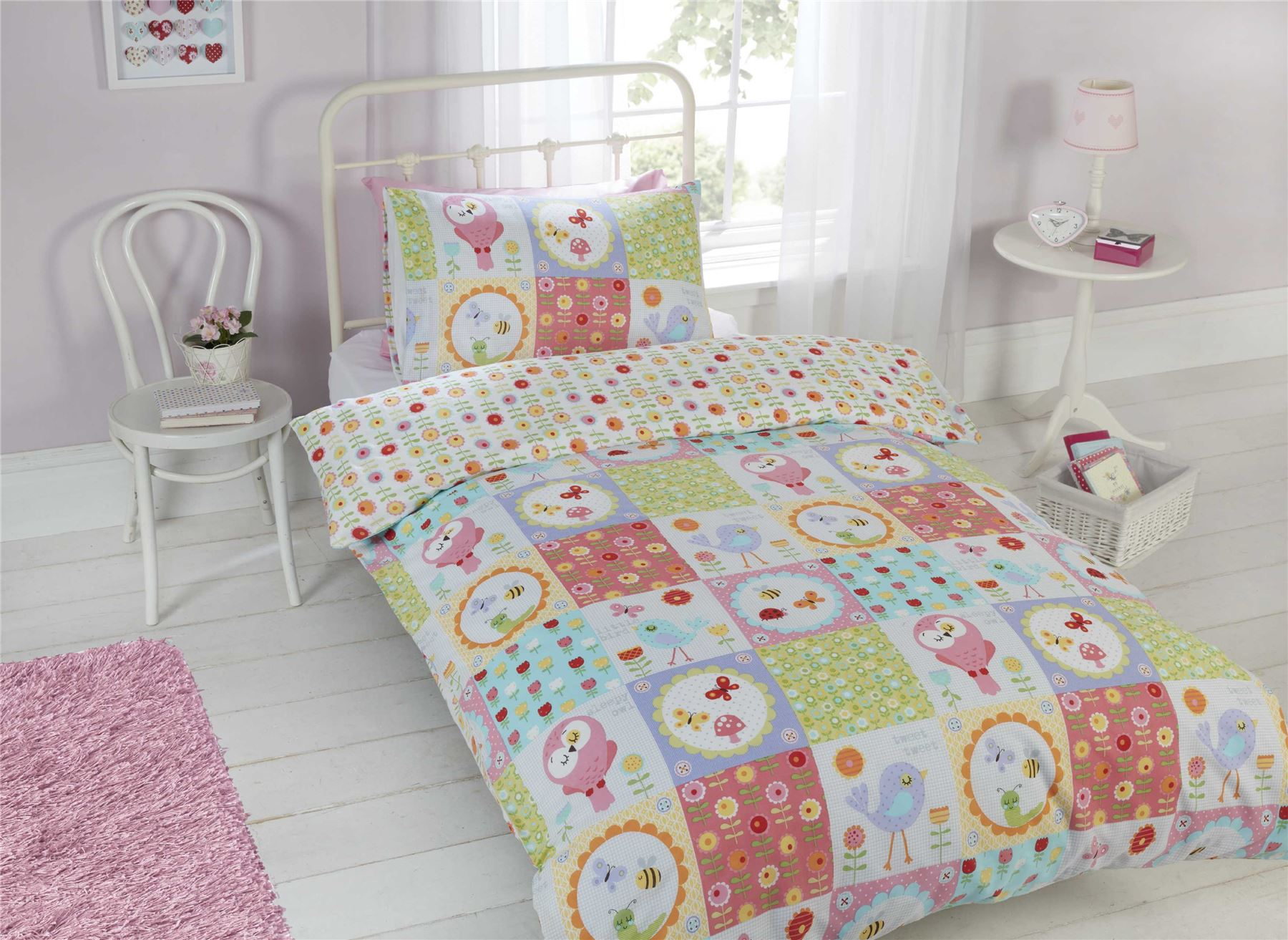 from bed linen patchwork bedlinen kids childrens cover duvet stripes stars oklahoma and htm lace quilt