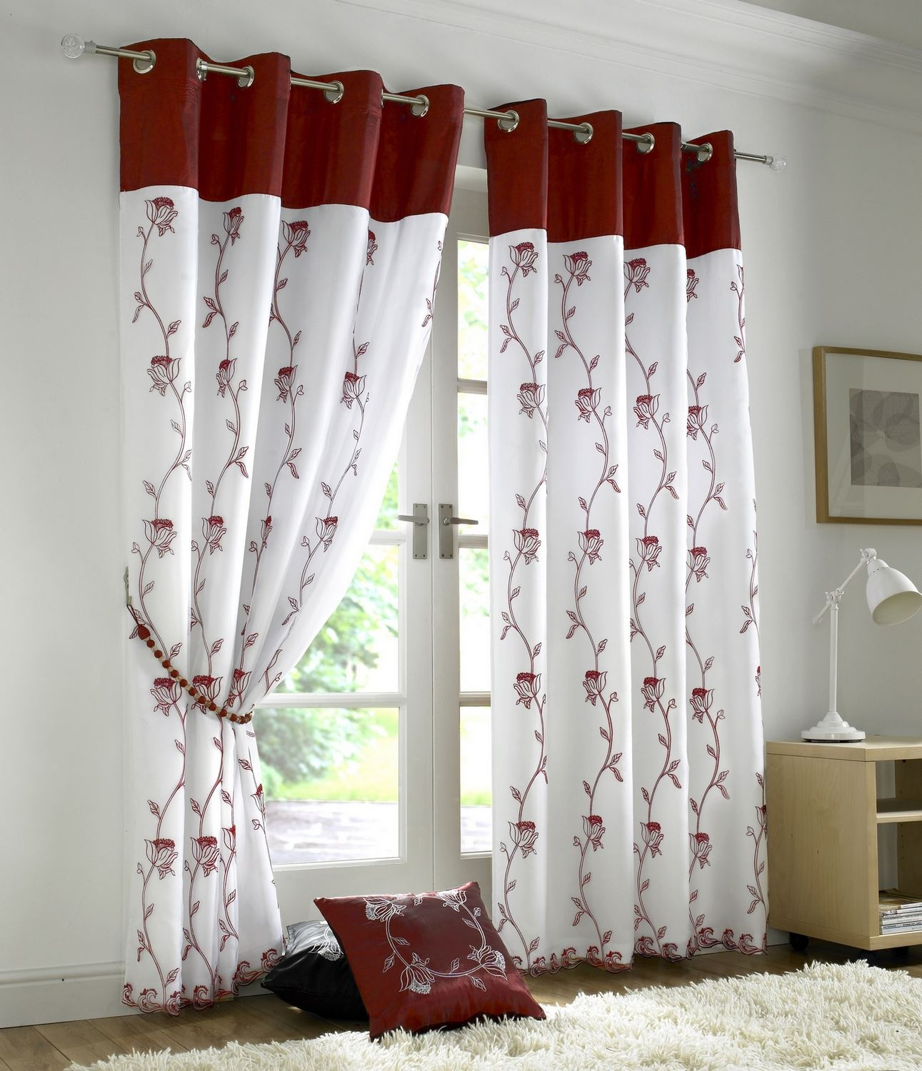 How To Make Ringed Curtains